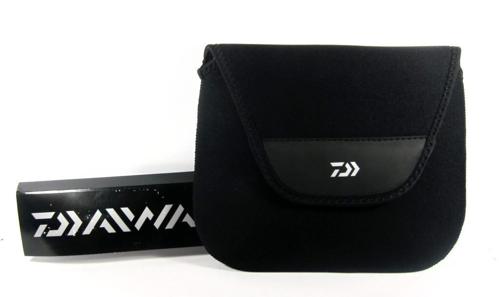 Daiwa Reel Bag Thick Neoprene Case for 4500-6500 Reels Size SP-L (7108)