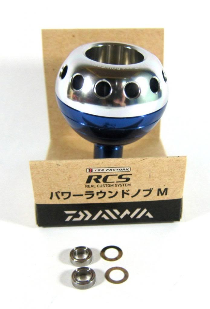 Sale Daiwa RCS Metal Power Handle Knob M Daiwa Spinning Reel 3500 - 4000 9633