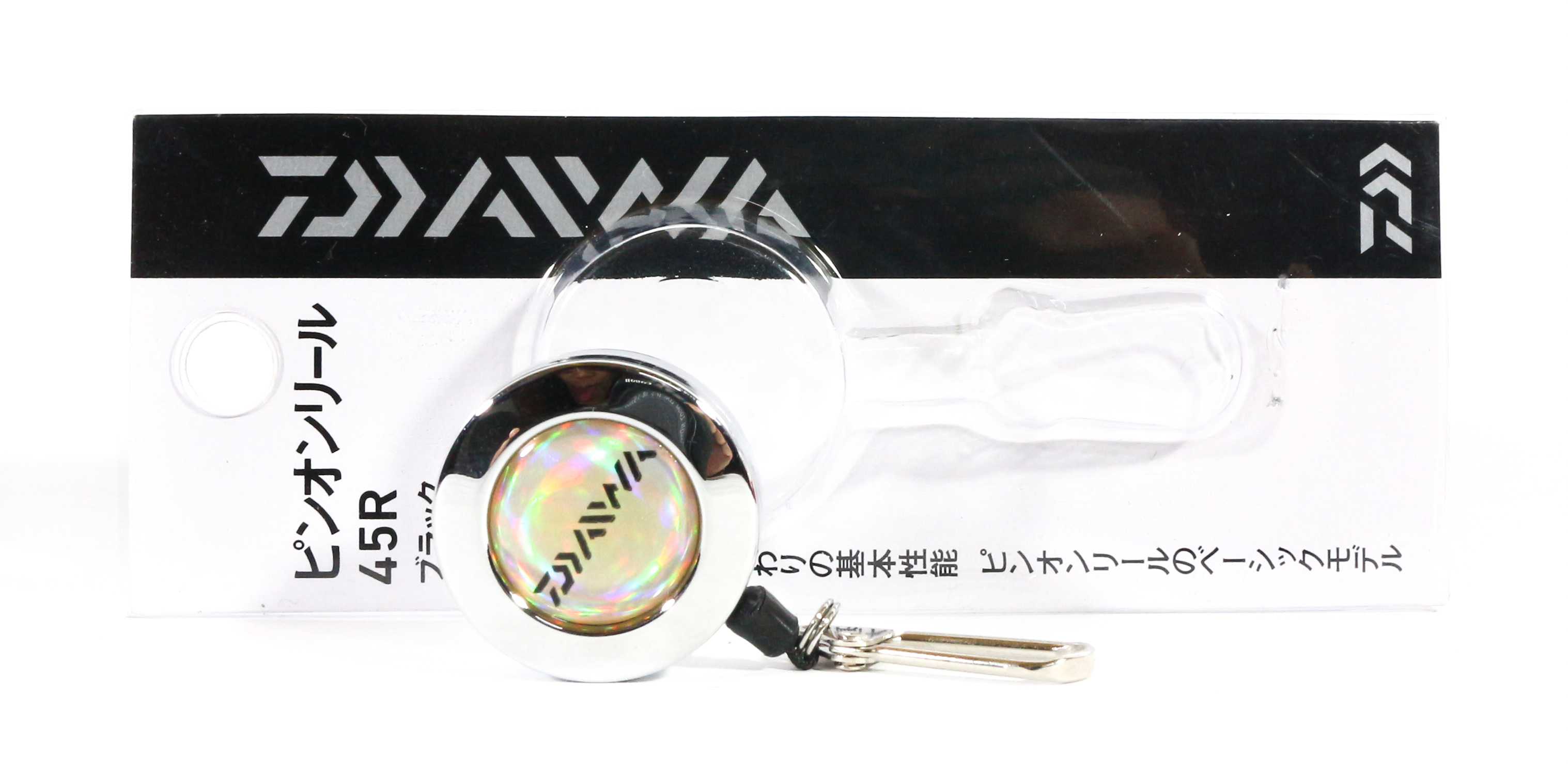 Sale Daiwa 45 R Pin On Reel Silver (0532)