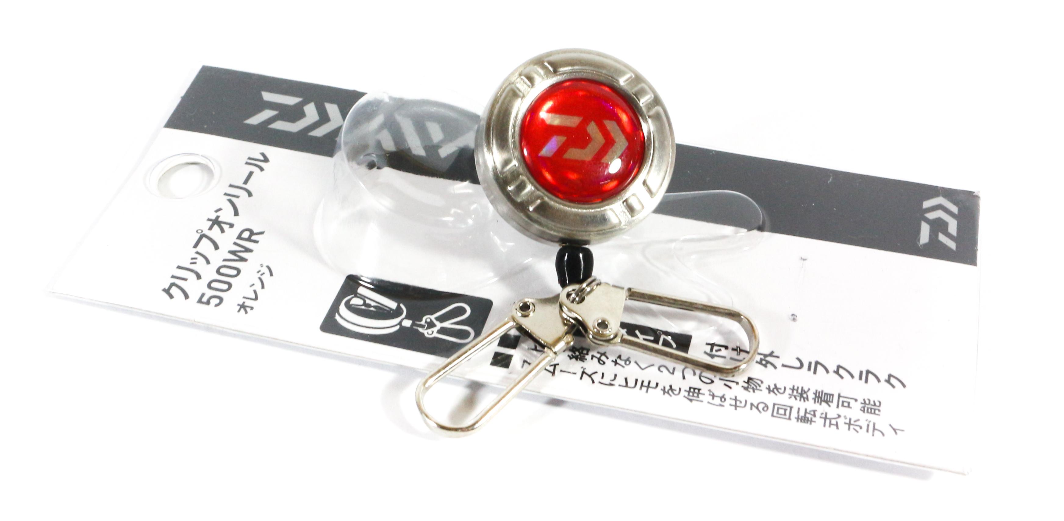 Sale Daiwa 500 WR Pin On Reel Double Hook Type Red (0556)