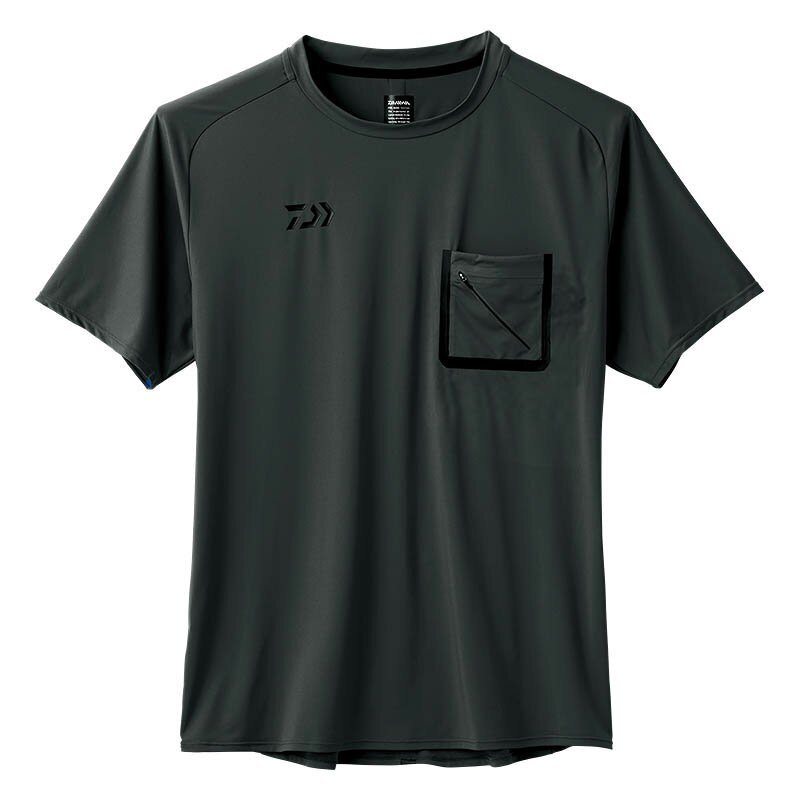 Daiwa De-86008 T Shirt Short Sleeve Black Size 2XL (4281)