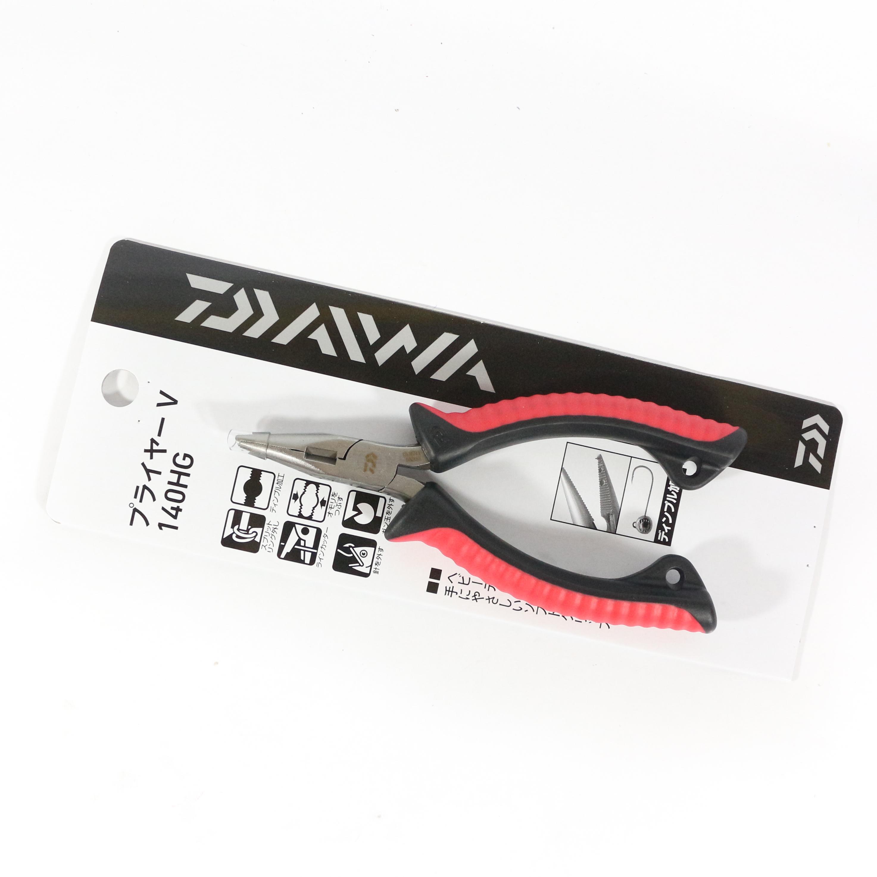 Sale Daiwa Pliers V 140HG Split Ring Pliers Size 1 - 4 (5041)