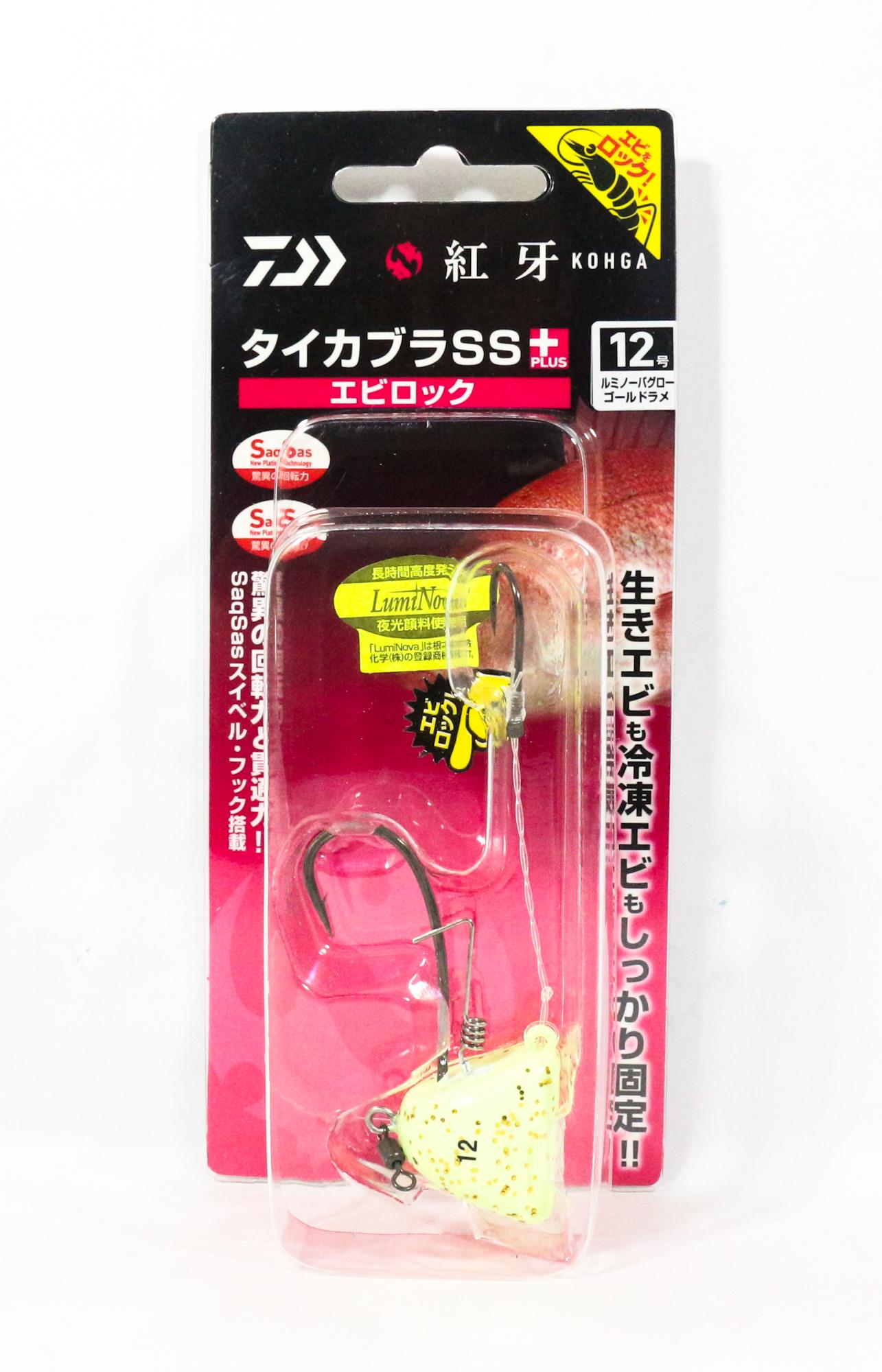 Daiwa Kabura SS+ Tenya Jig Size 12 L GL/GD Flake 003202