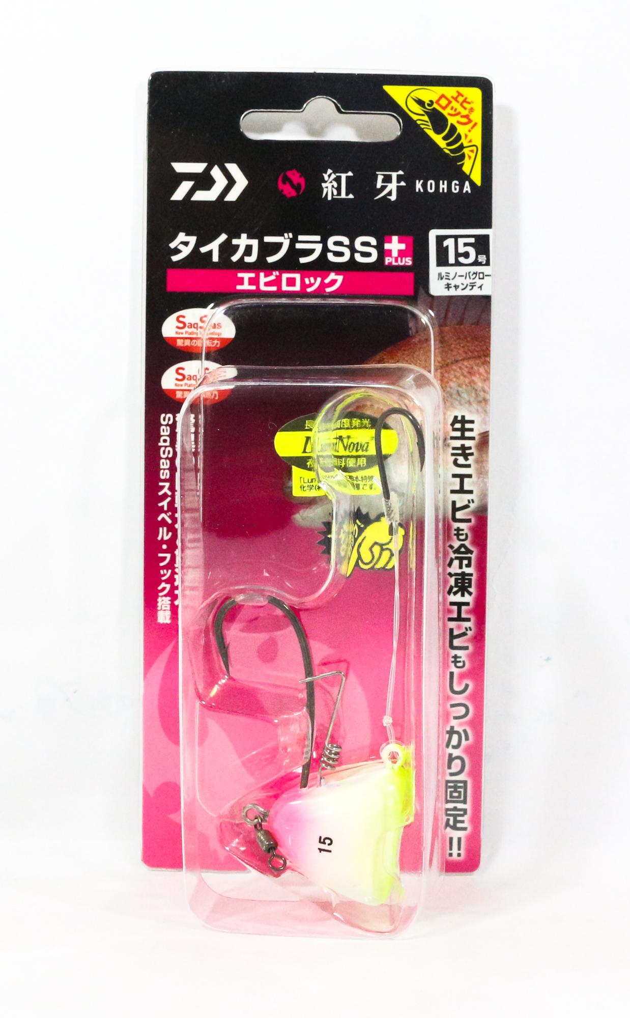 Daiwa Kabura SS+ Tenya Jig Size 15 L Glow Candy 003264