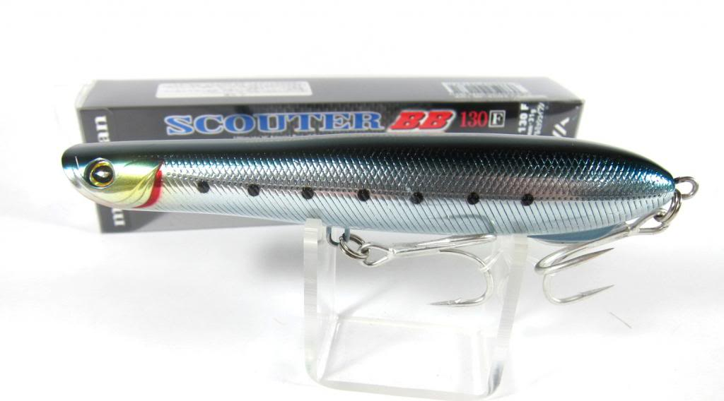 Daiwa More Than Scouter Blue Backer BB 130F Floating Lure 921671