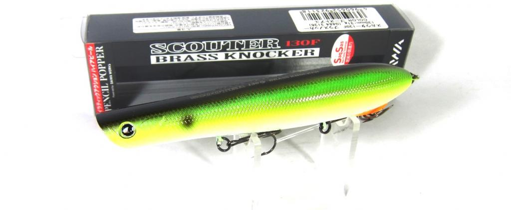Sale Daiwa More Than Scouter Brass Knocker 130F Floating Lure 05 923101