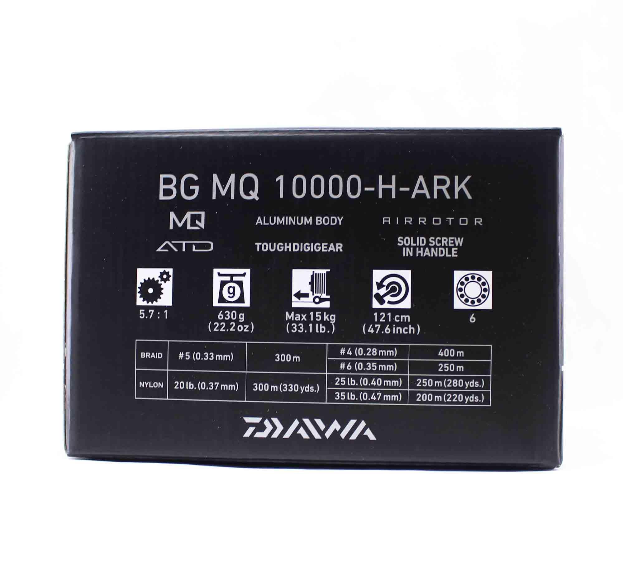 Daiwa Reel Spinning BG MQ 10000 H ARK (3277)