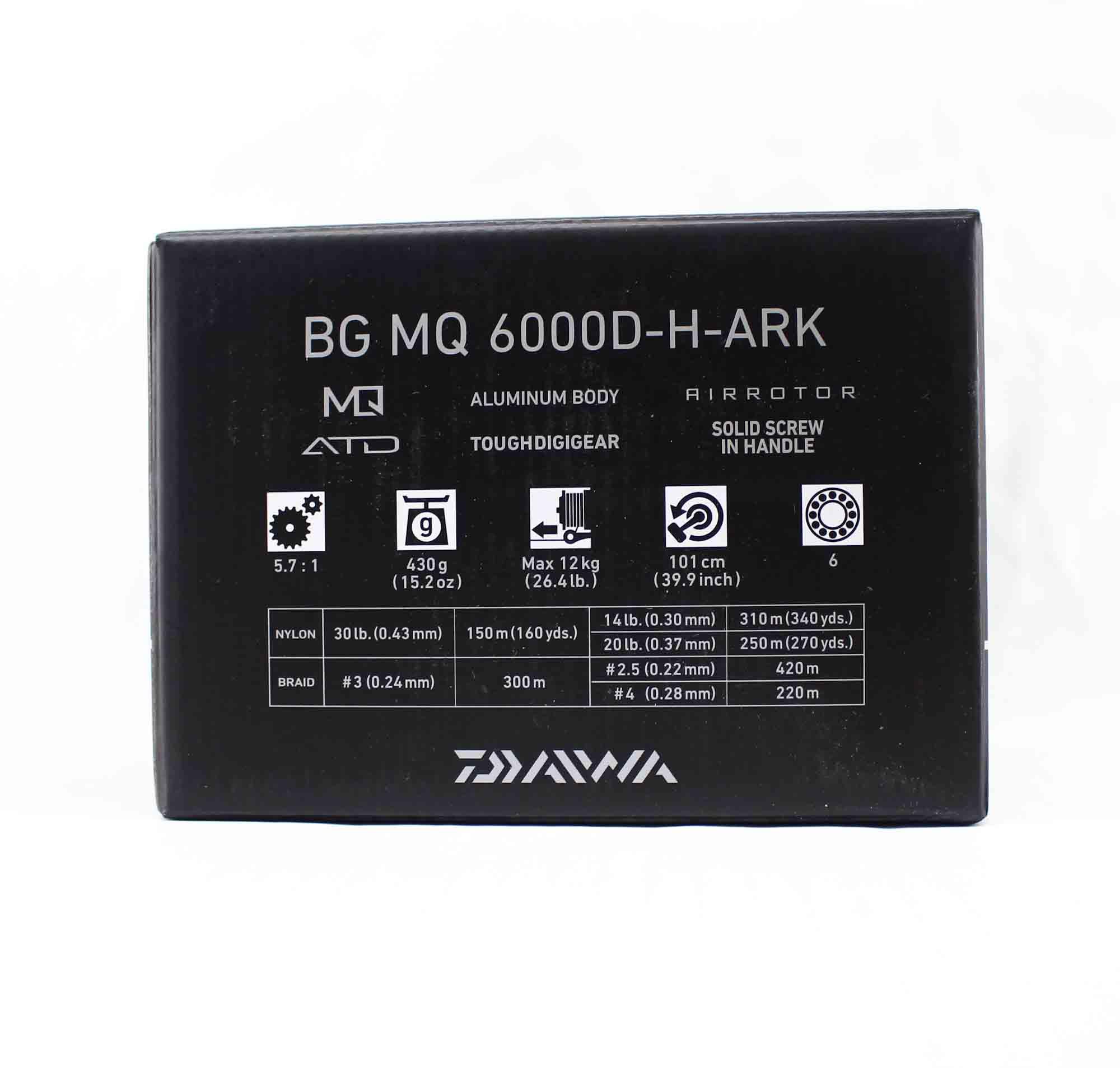 Daiwa Reel Spinning BG MQ 6000D H ARK (3253)