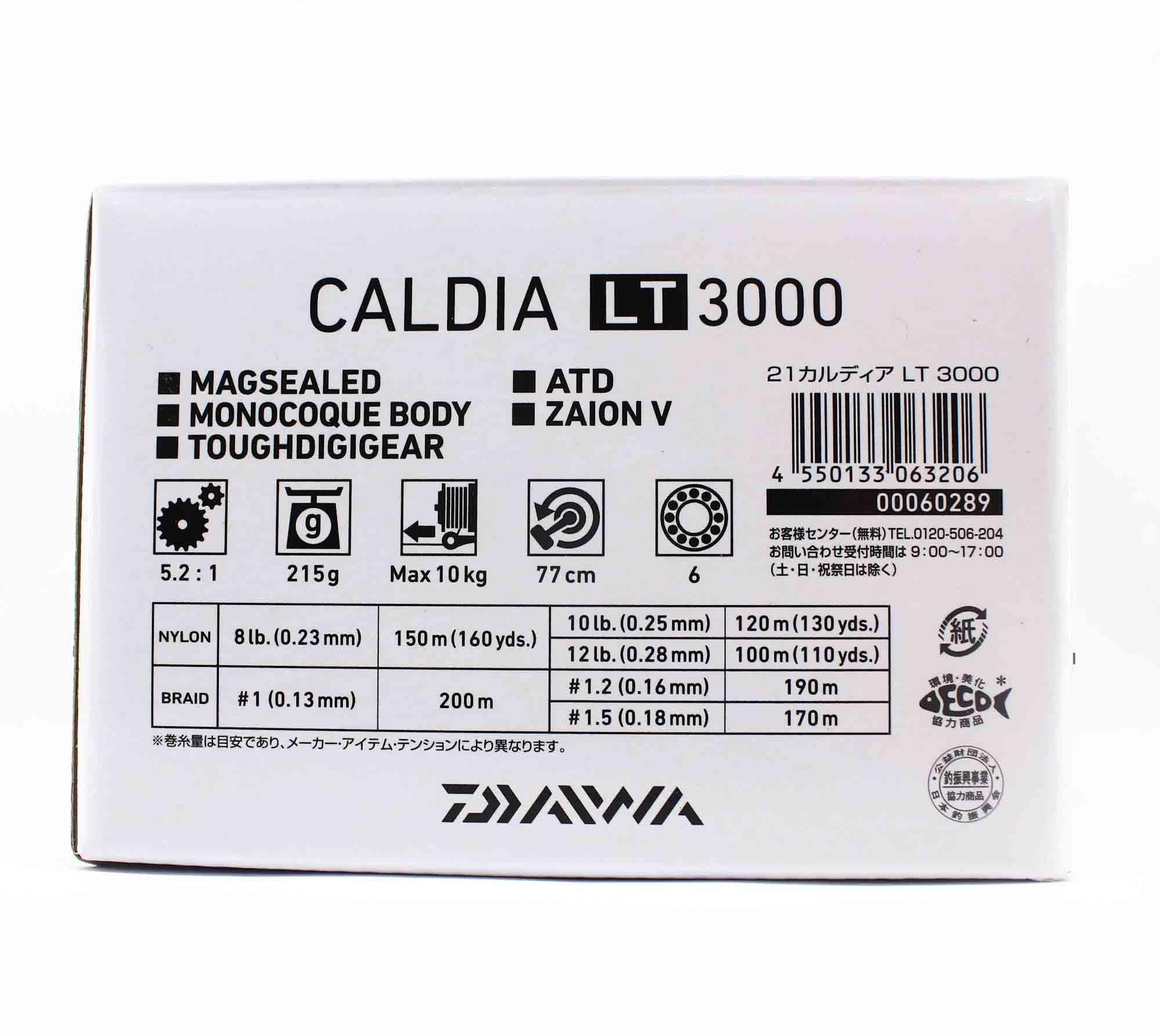 Daiwa Reel Spinning 21 Caldia LT3000 (3206)