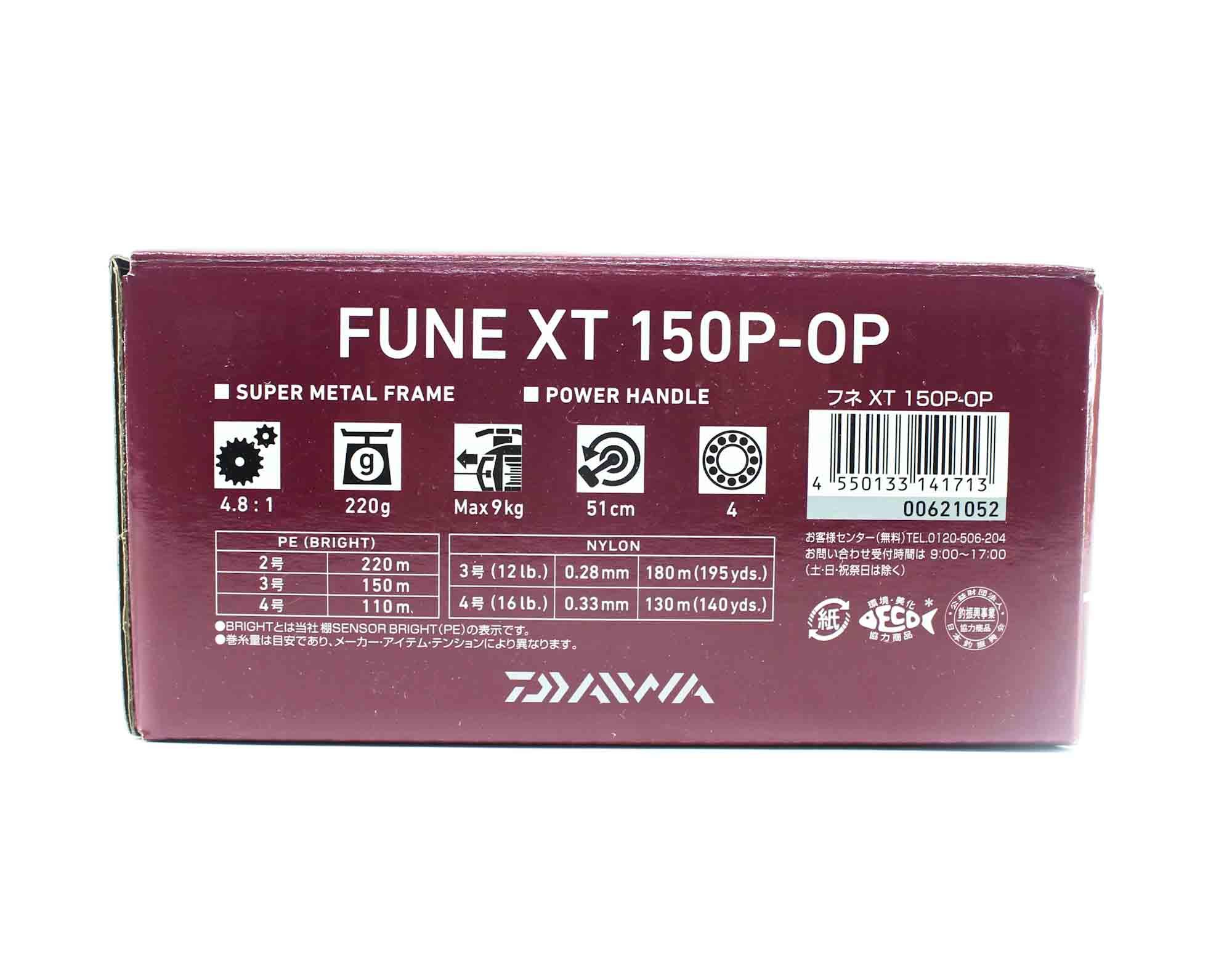 Daiwa Reel Baitcast 20 Fune XT 150P-OP Right Hand (1713)