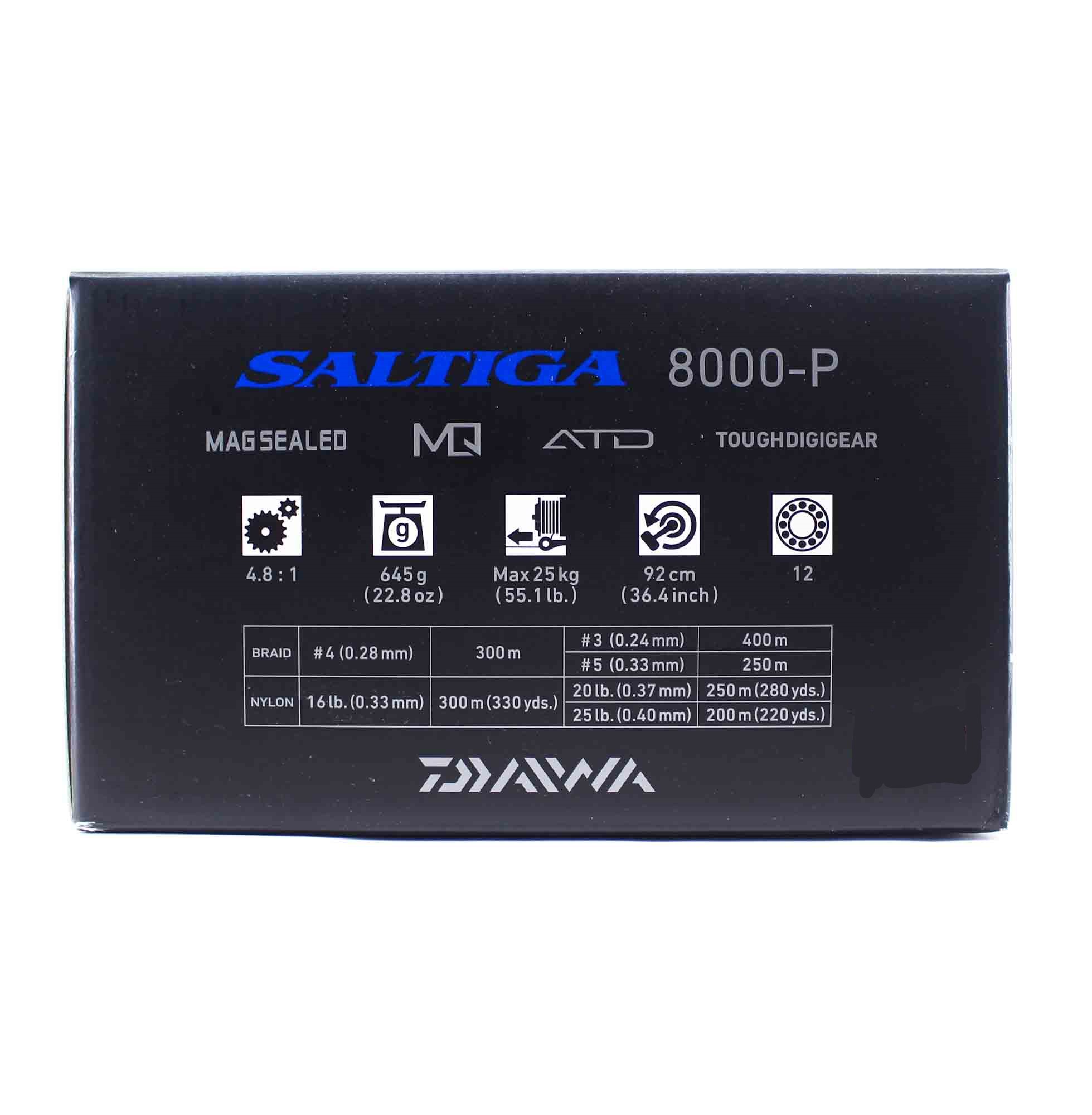 Daiwa Reel Spinning 2020 Saltiga 8000 P (9945)