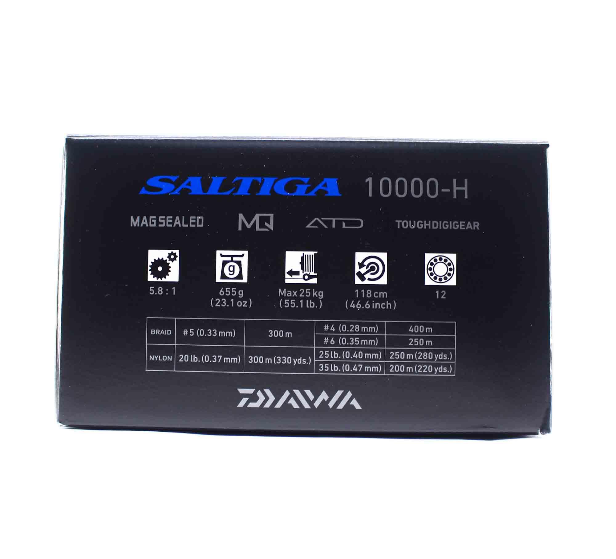 Daiwa Reel Spinning 2020 Saltiga G 10000 H (9976)