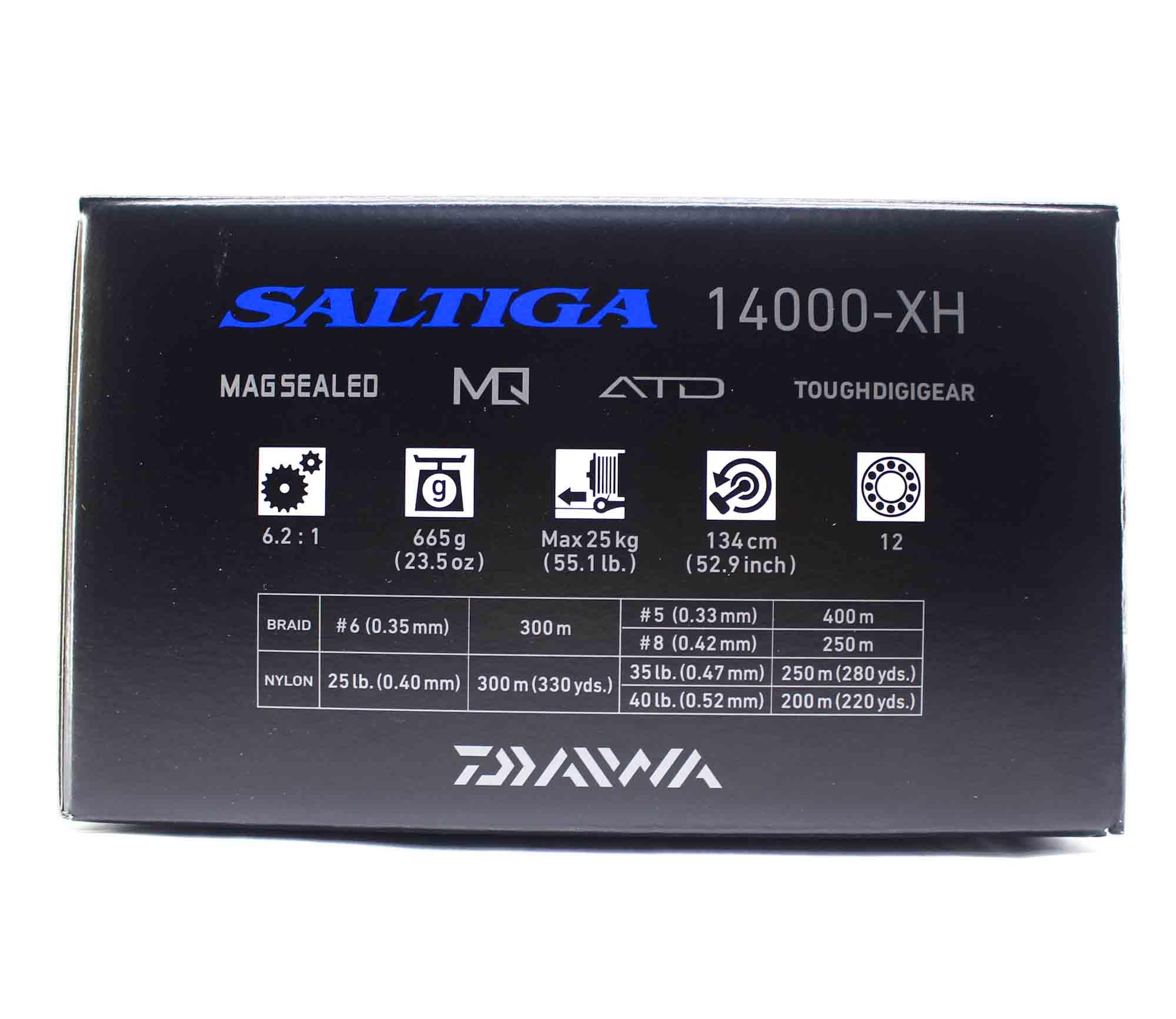 Daiwa Reel Spinning 2020 Saltiga G 14000 XH (9990)