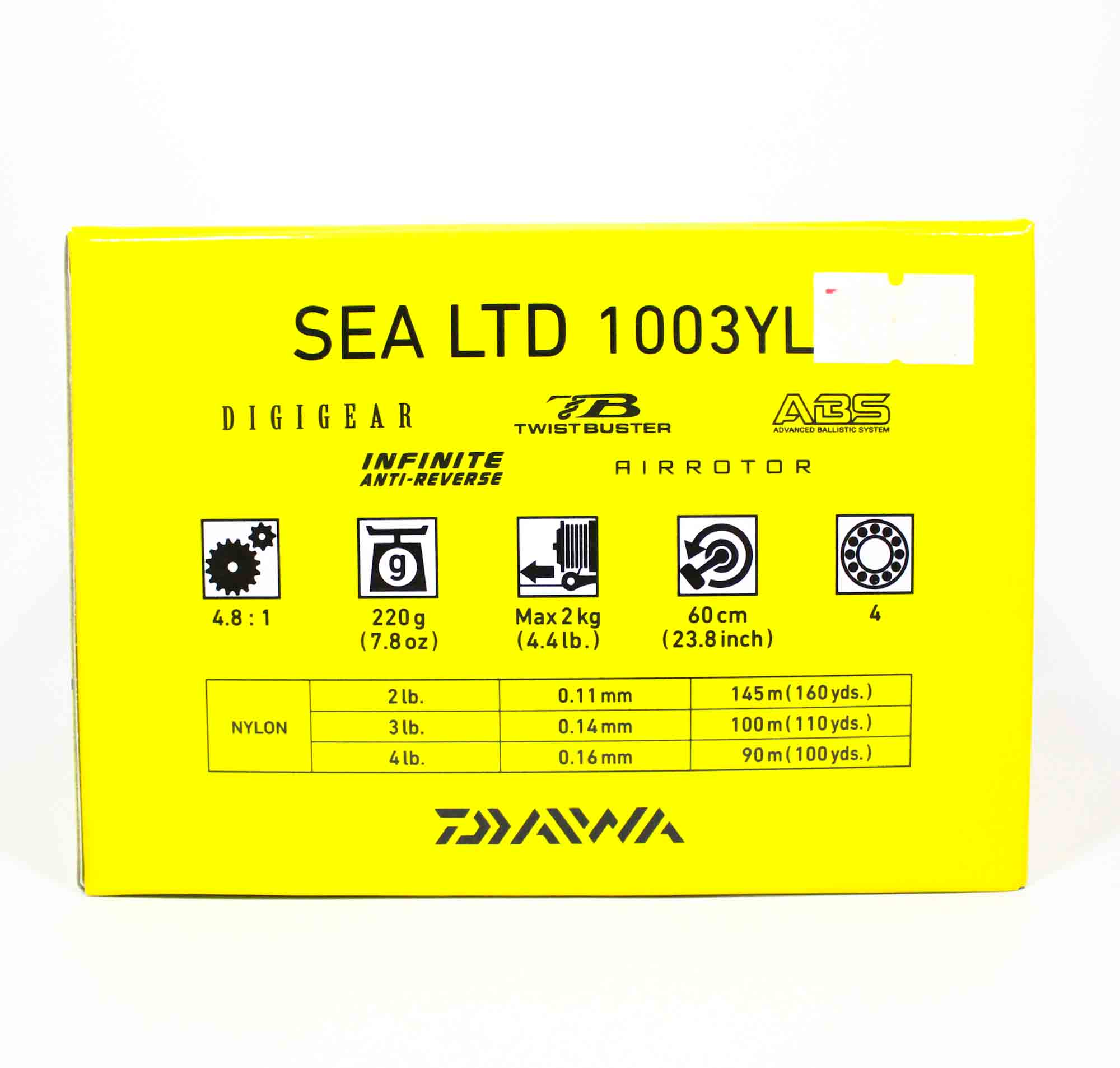 Daiwa Reel Spinning Sea Ltd 1003 YL (7960)