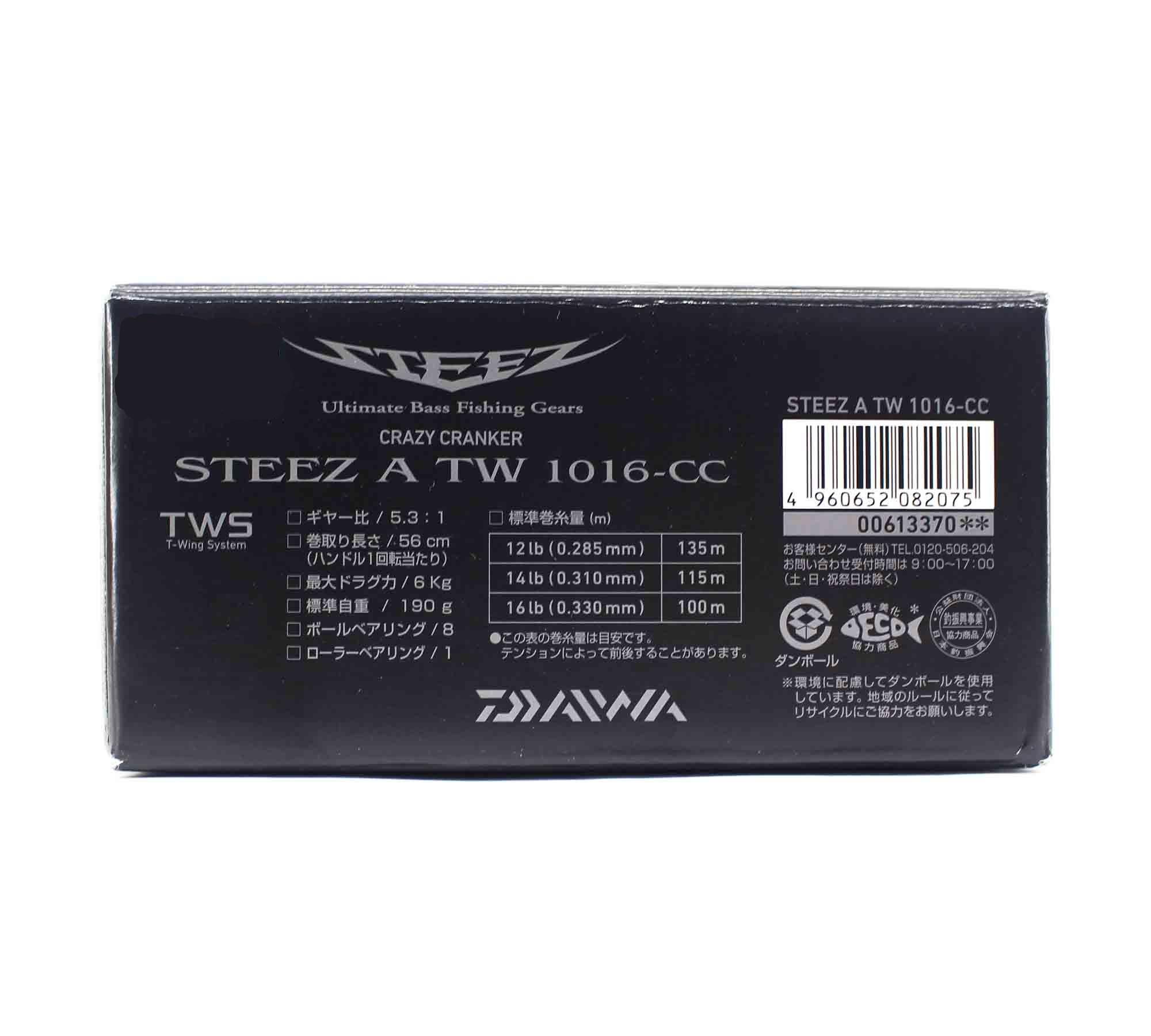 Daiwa Reel Baitcast Steez A TW 1016 - CC (2075)