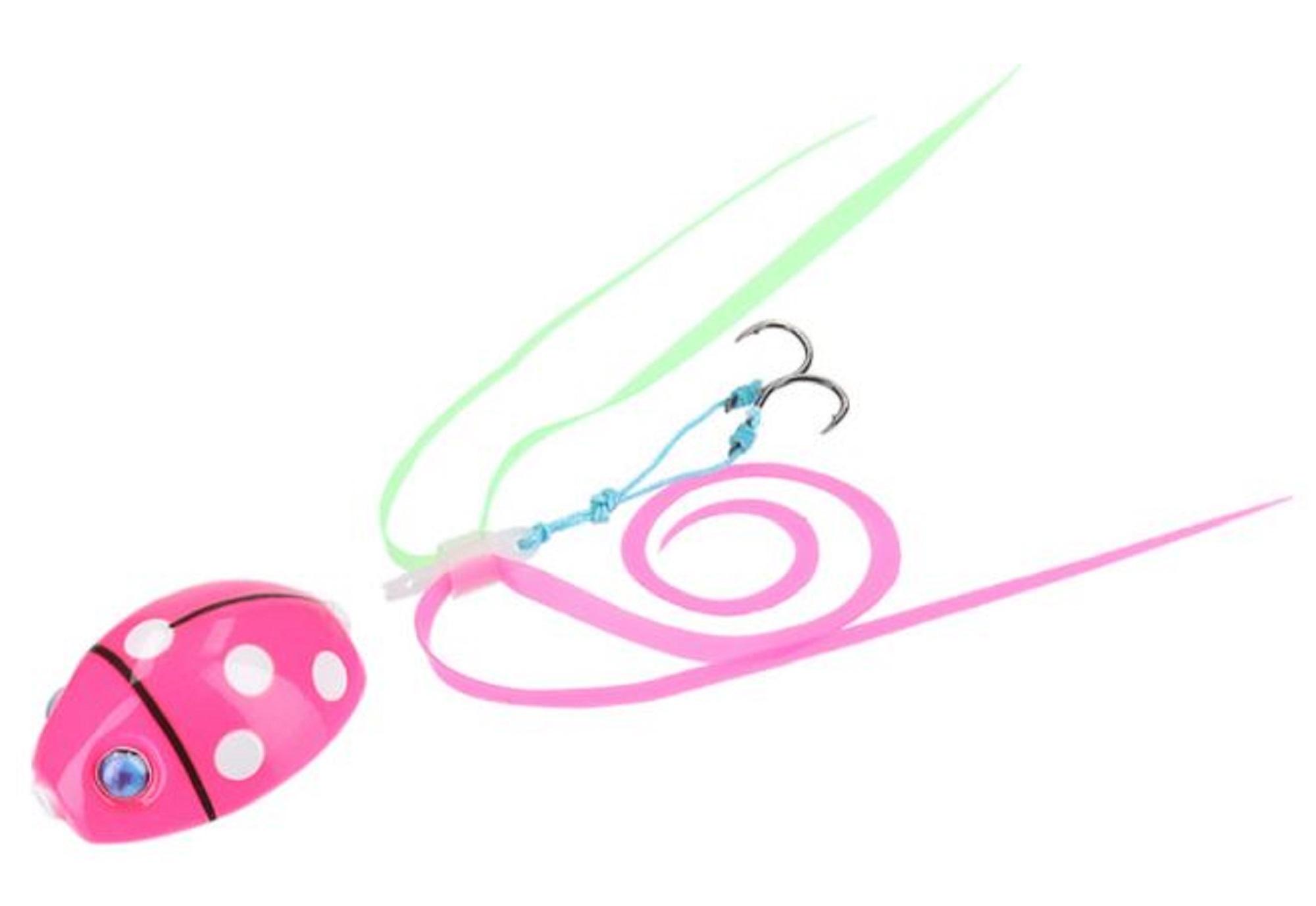Daiwa Sliding Madai BRFA Nakai LB 80 grams Dot Pink (7757)