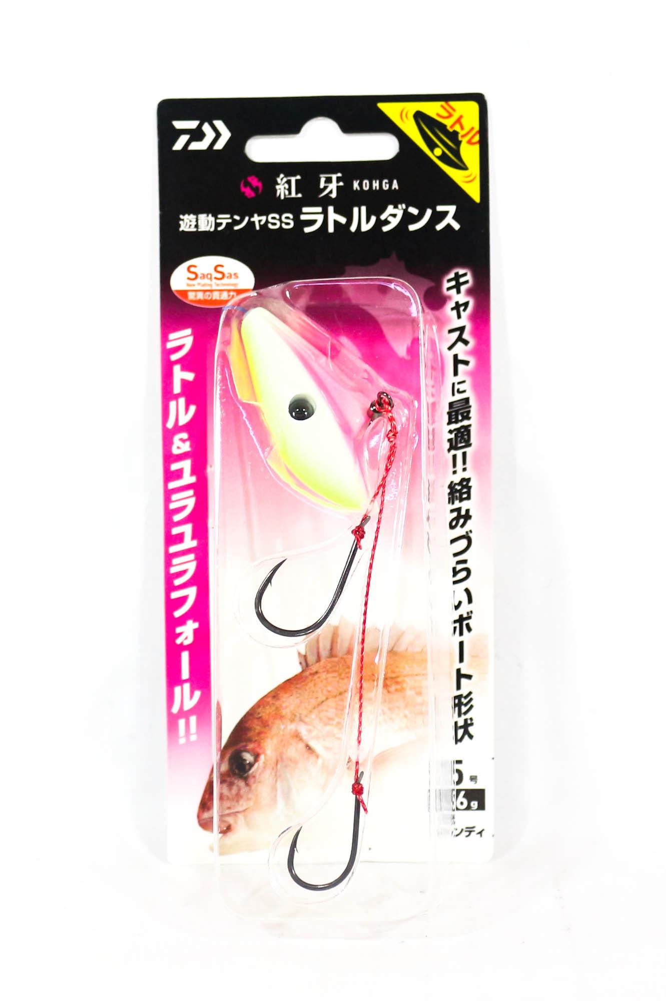Daiwa Yadou Tenya Jig SS R Dance 56 grams Size 15 G/Candy (0283)