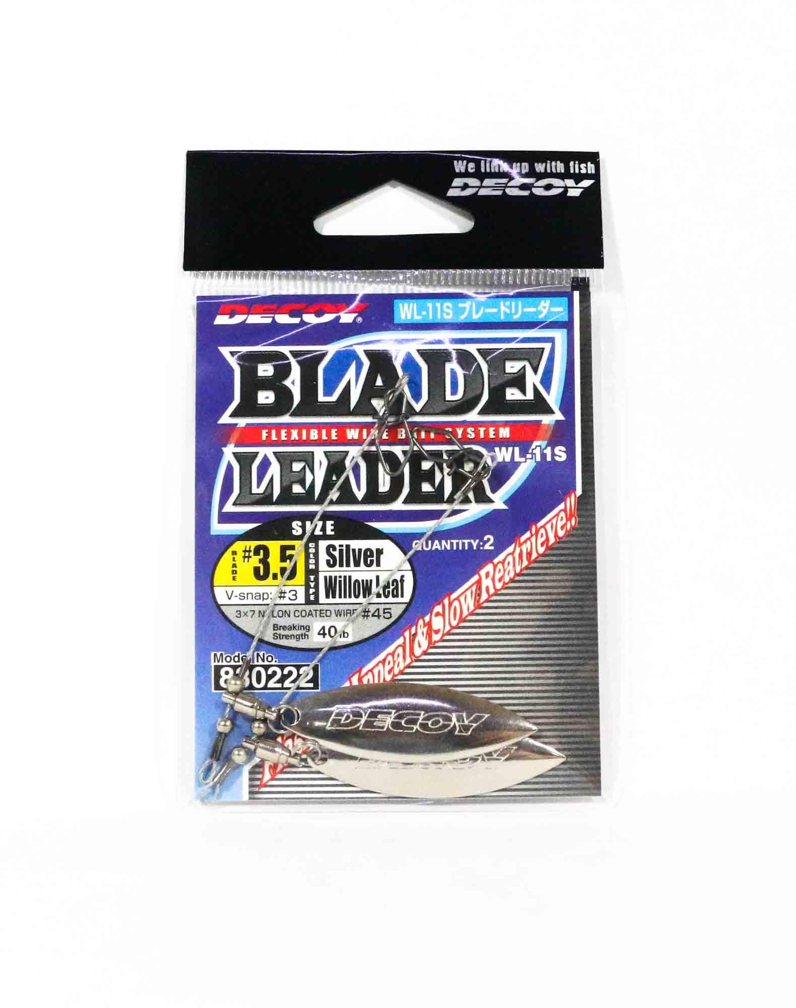 Decoy WL-11S Blade Leader Silver Size 3.5 (0222)