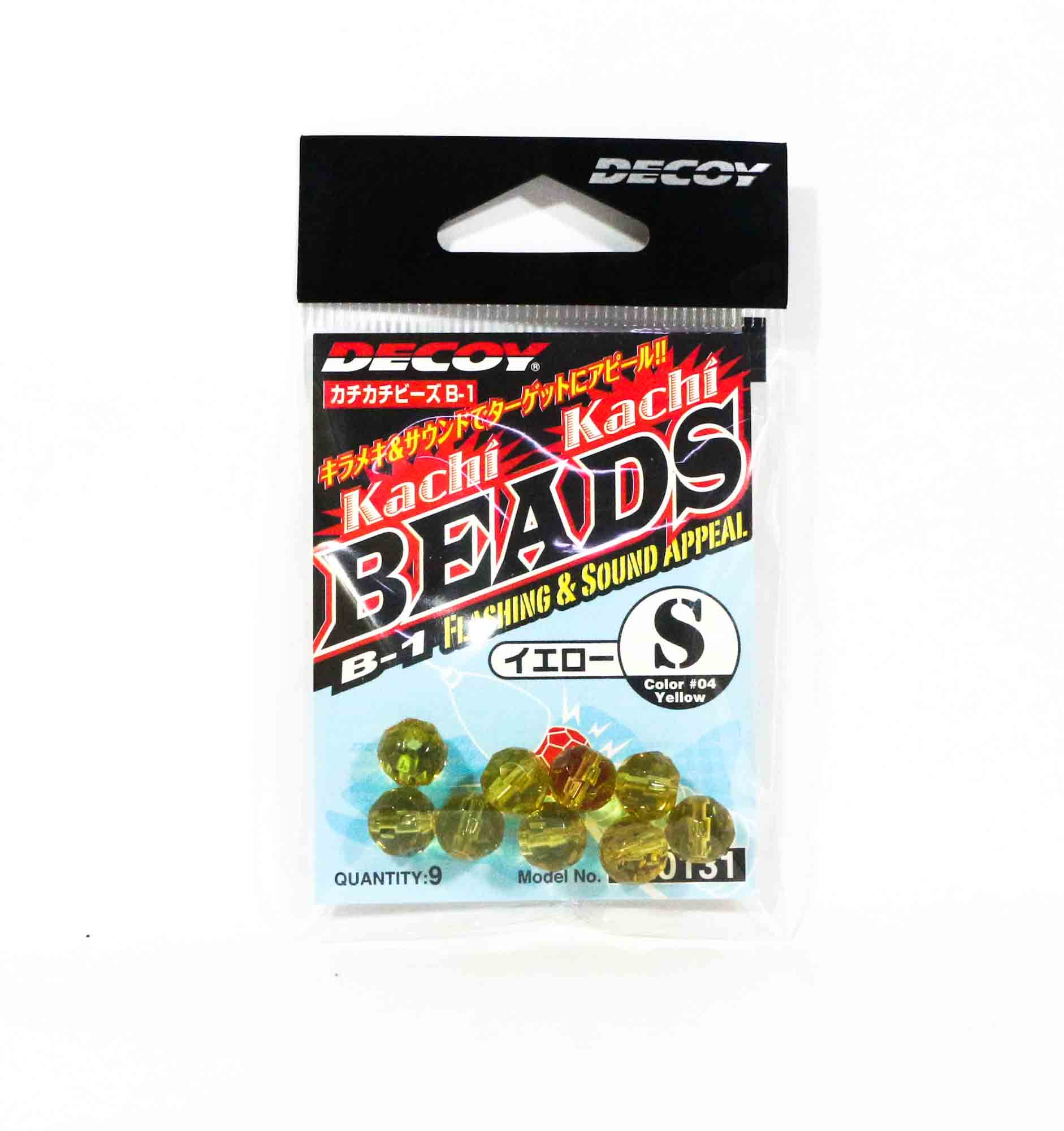 Decoy B-1 Kachi Kachi Beads Yellow Size S (0131)