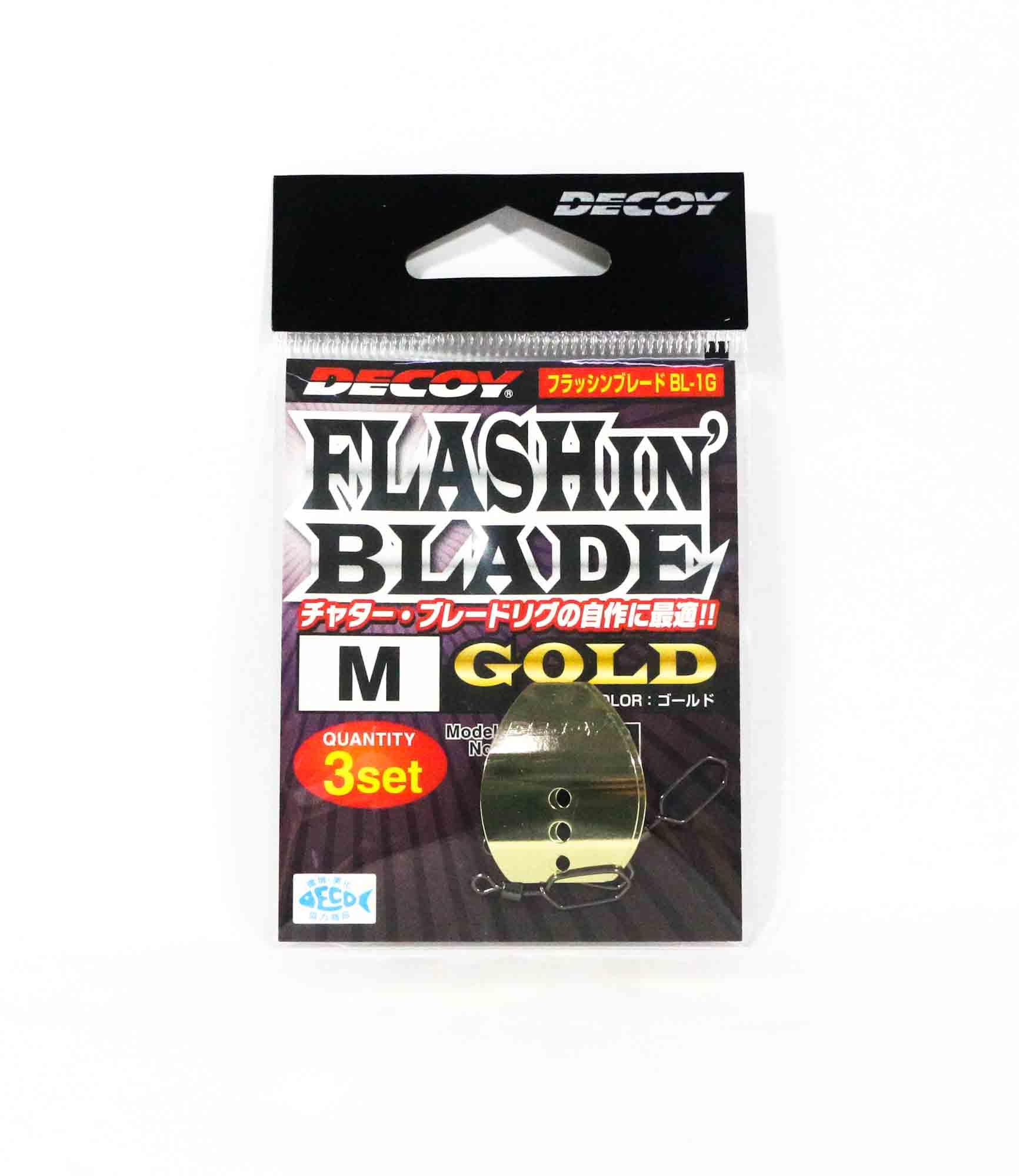 Decoy BL-1G Flashin Blade Gold Size M (2160)