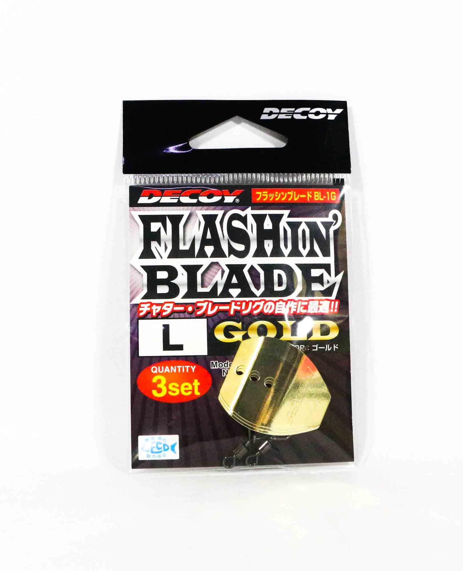 Decoy BL-1G Flashin Blade Gold Size L (2177)