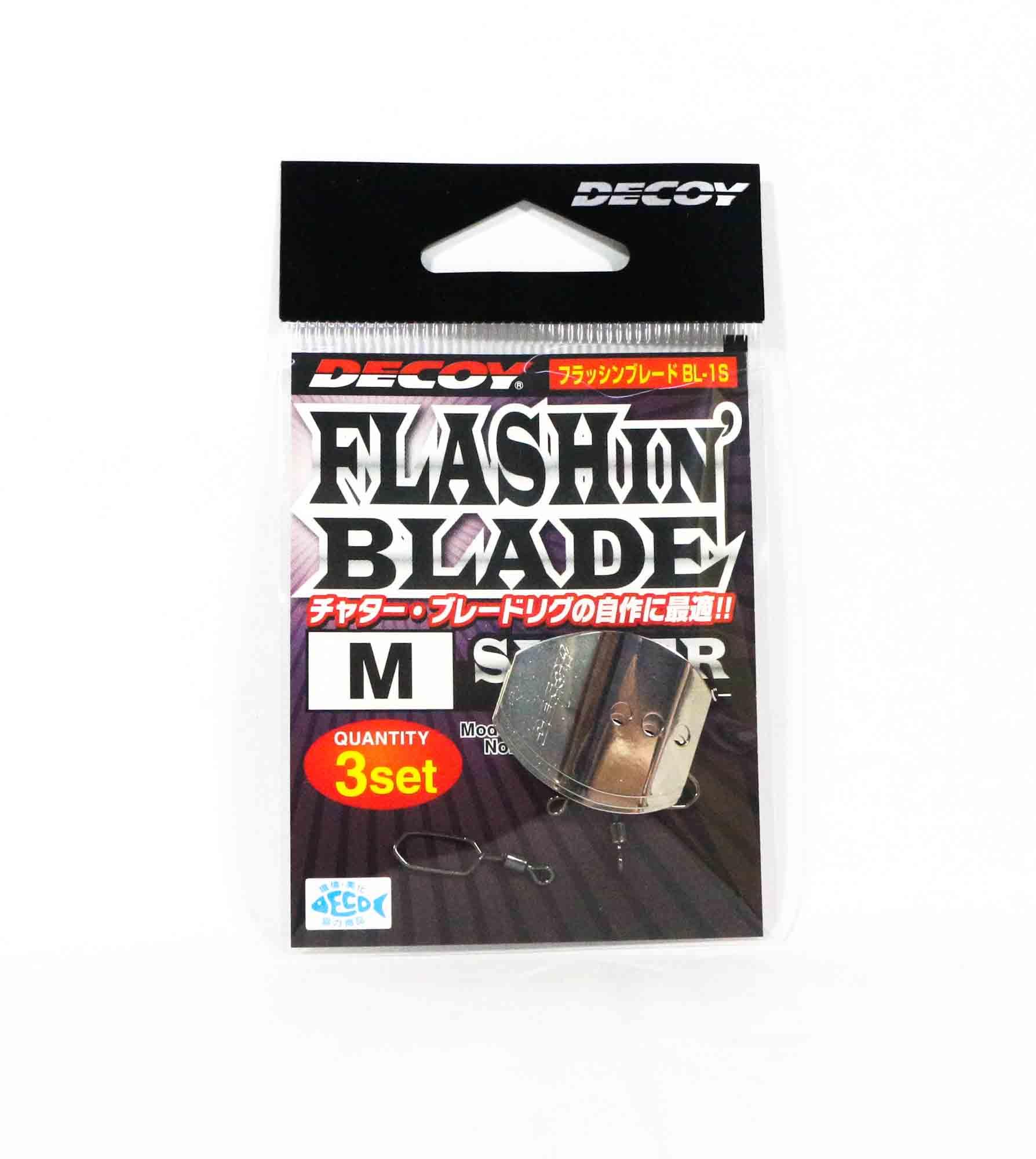 Decoy BL-1S Flashin Blade Silver Size M (2108)