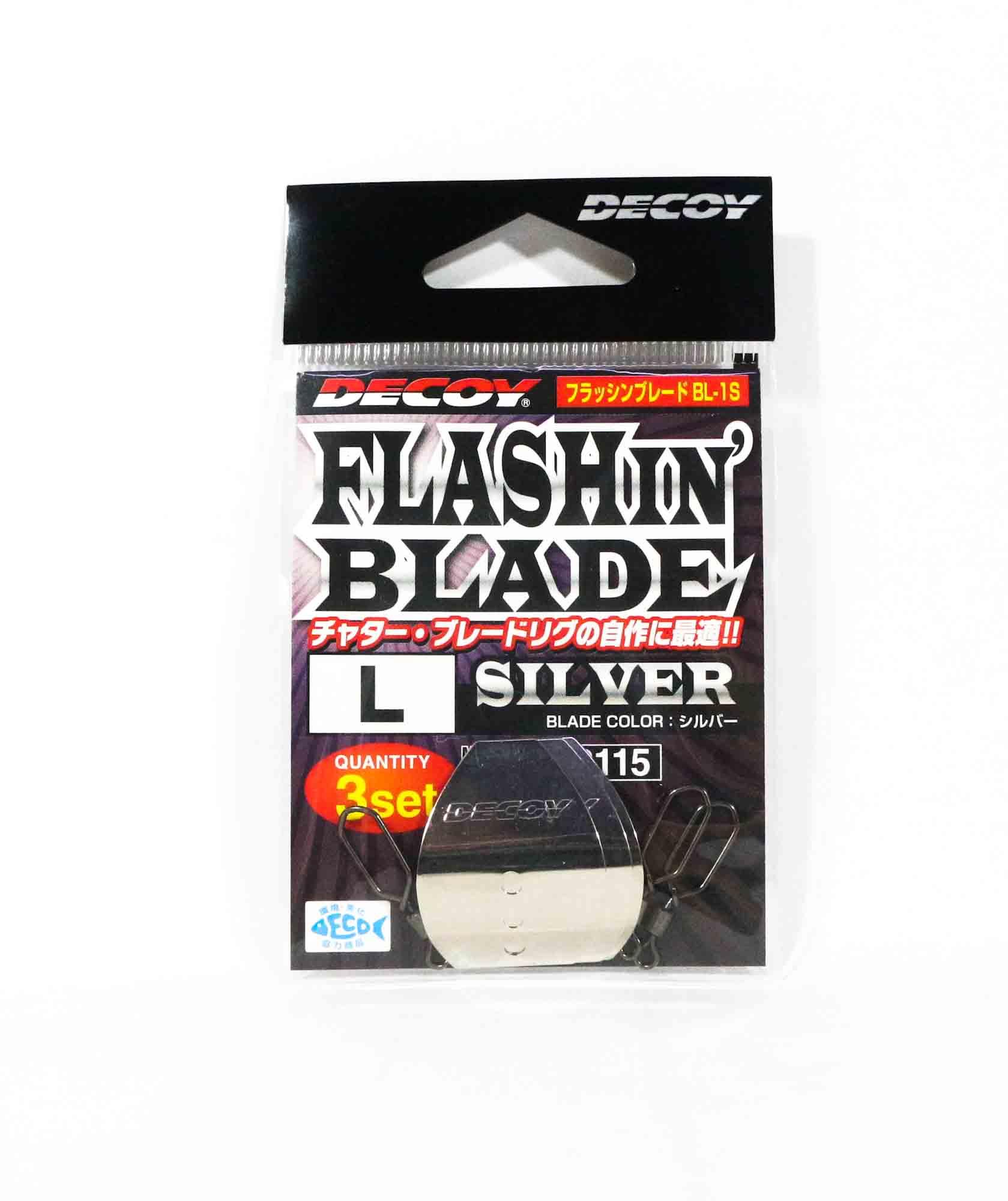Decoy BL-1S Flashin Blade Silver Size L (2115)