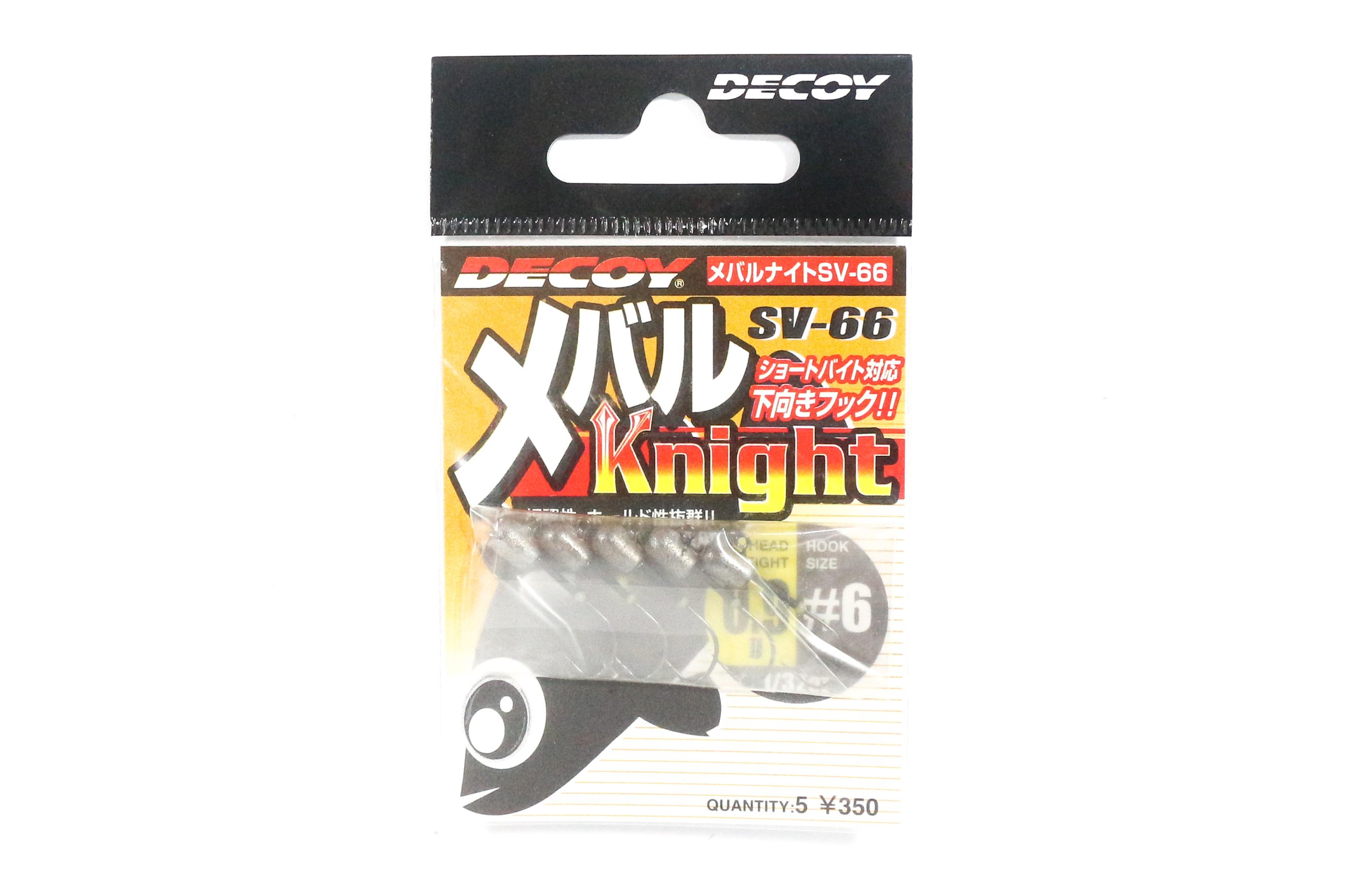 Decoy SV-66 Jig Head Mebaru Knight Size 6 , 1/32 oz (1054)