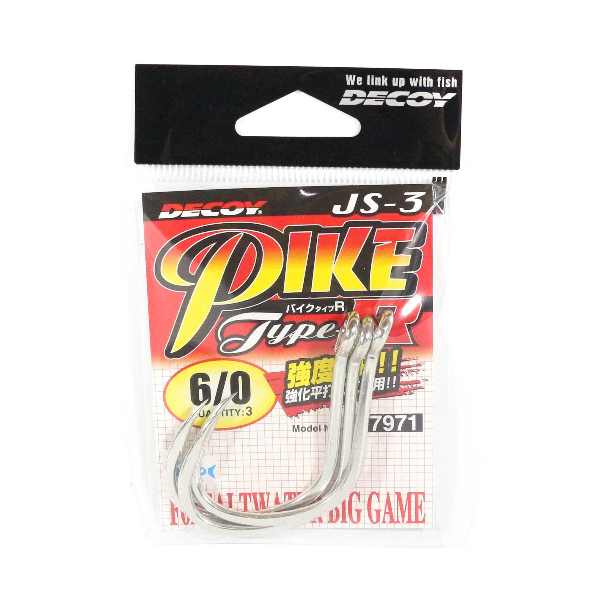 Decoy JS-3 Jigging Single Pike Type R Size 6/0 (7971)