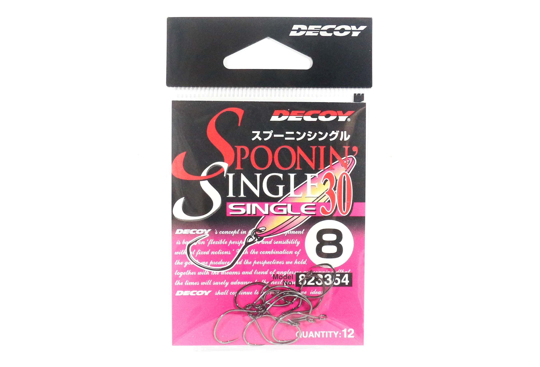 Decoy Single 30 Spoonin' Single lure Hook Size 8 (3354)