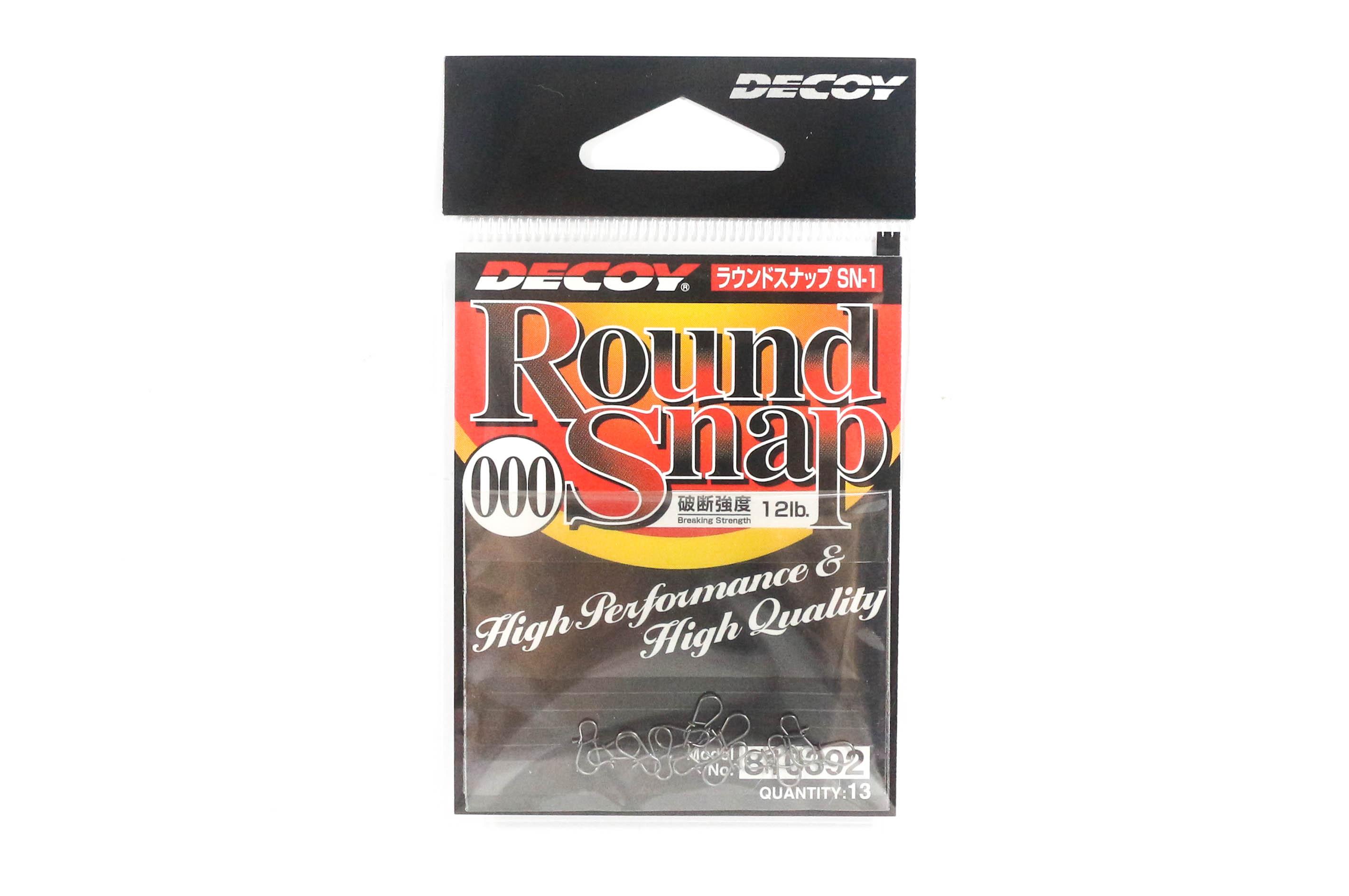 Decoy SN-1 Round Snap High Performance Size 000 (0392)