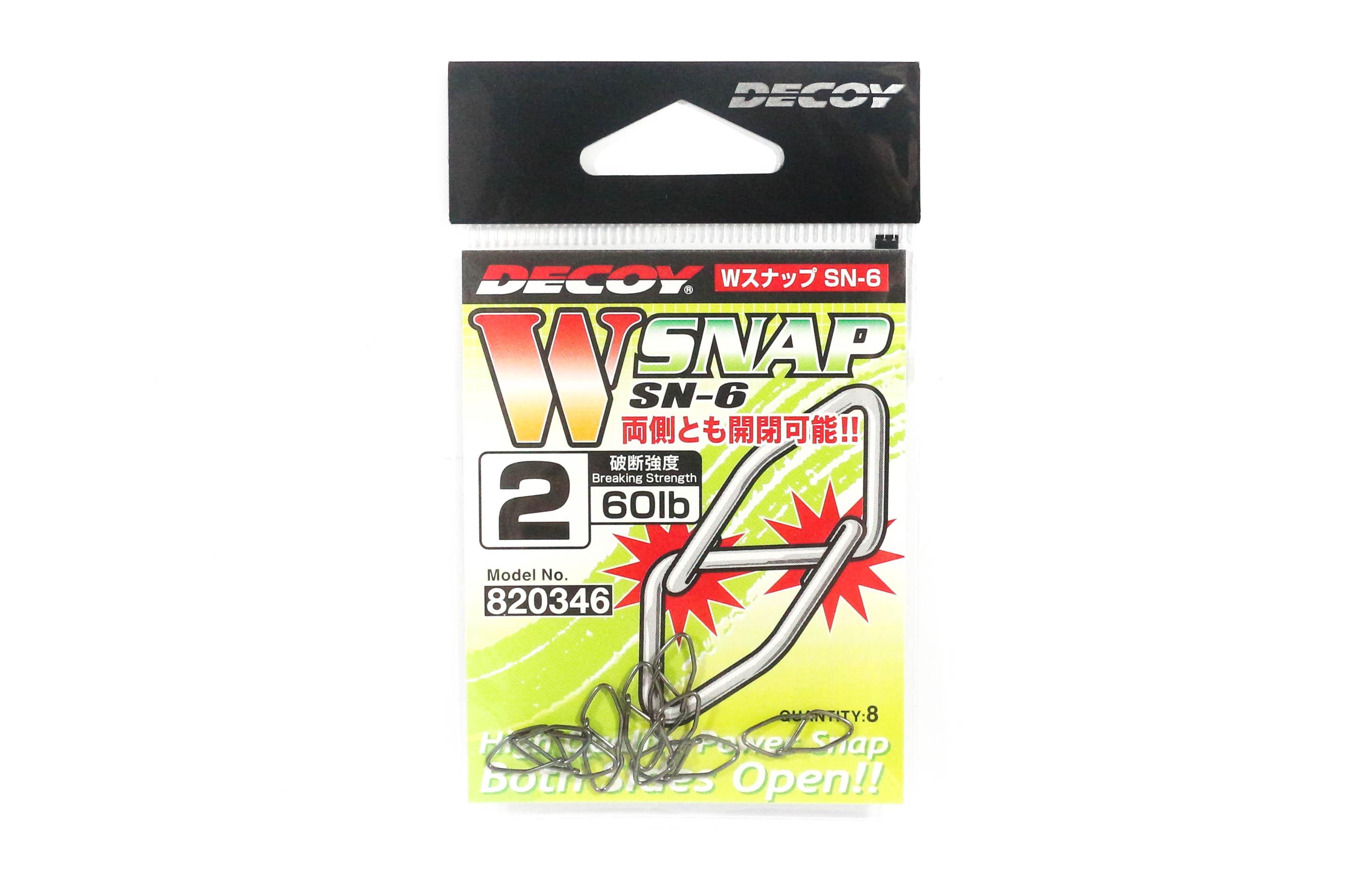 0346 Decoy SN-6 W Snap Powerful Dual Snap Size 2