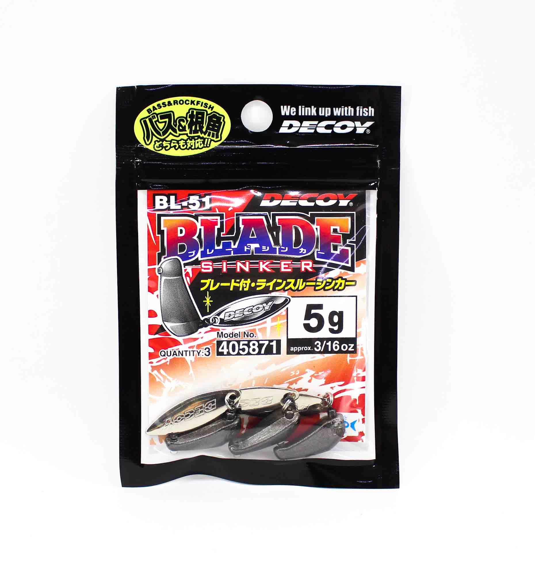 Decoy BL-51 Blade Sinker Size 5 grams (5871)