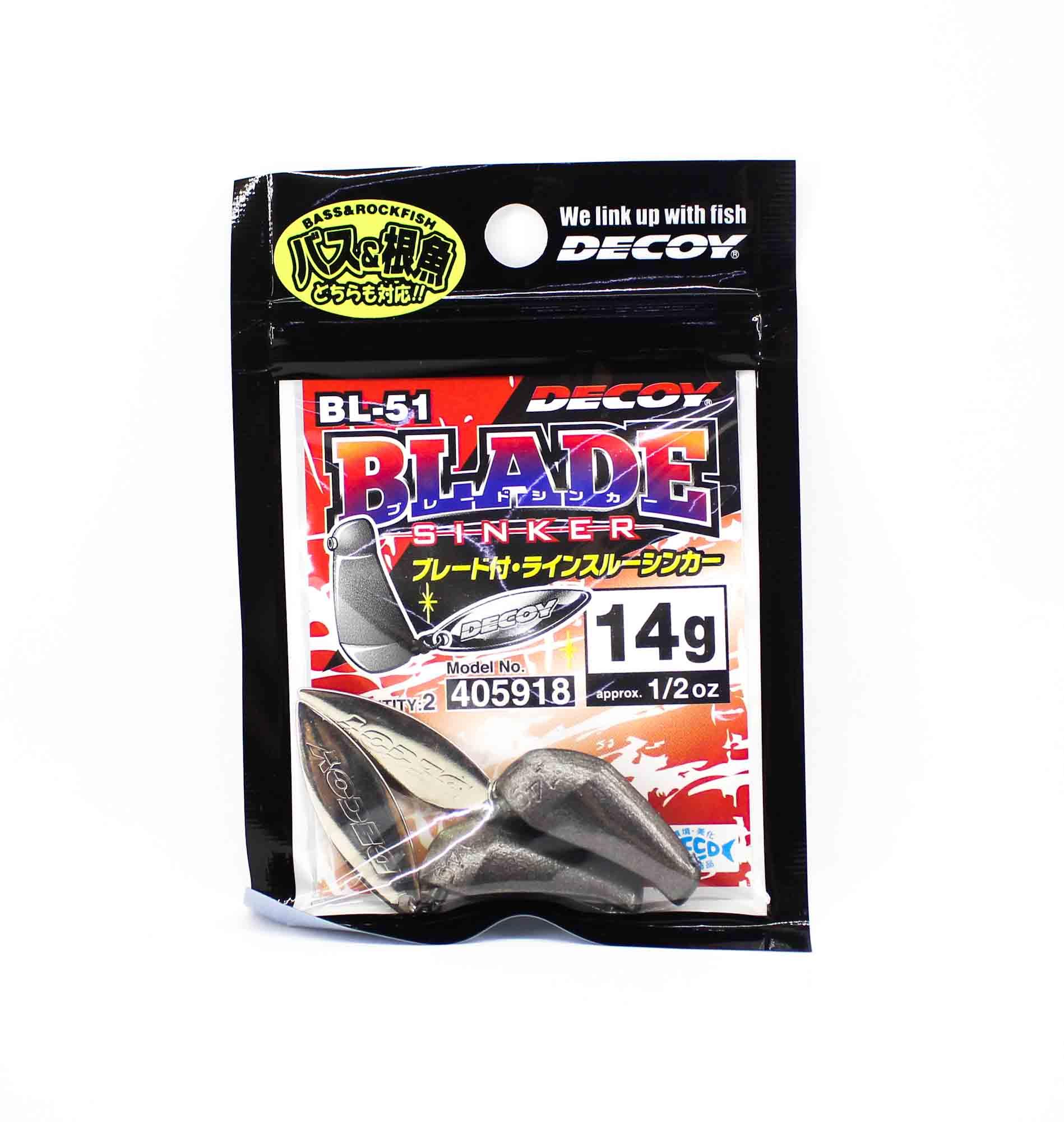 Decoy BL-51 Blade Sinker Size 14 grams (5918)