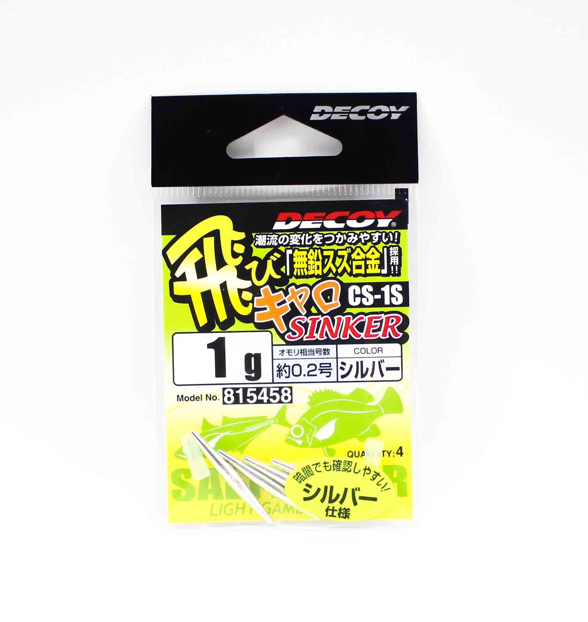 Decoy CS-1S Caro Sinker Tuning Weight Size 1 grams (5458)