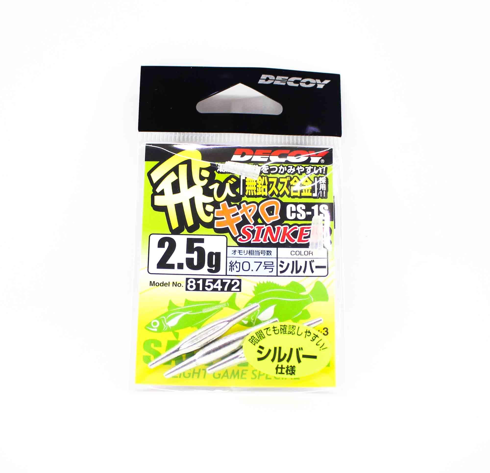Decoy CS-1S Caro Sinker Tuning Weight Size 2.5 grams (5472)
