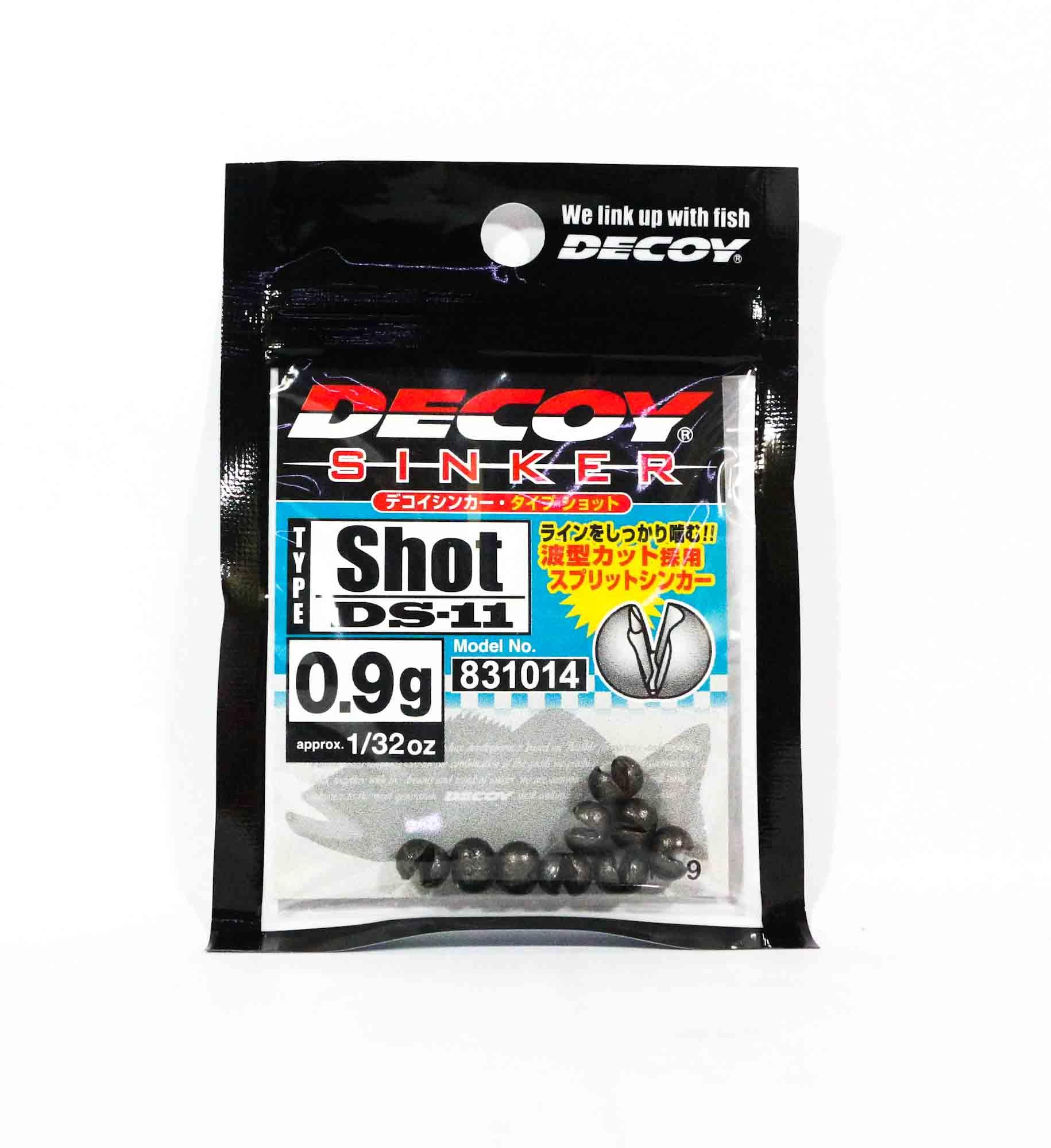 Decoy DS-11 Sinker Shot Size 0.9 grams (1014)
