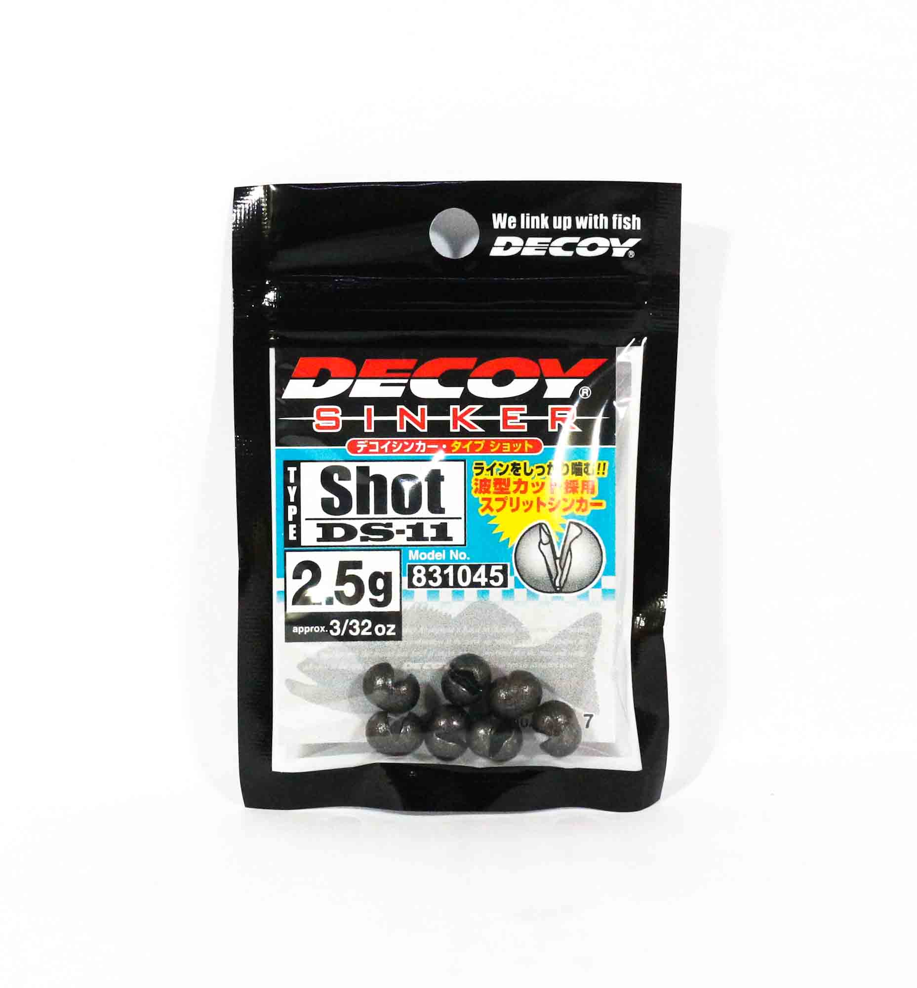 Decoy DS-11 Sinker Shot Size 2.5 grams (1045)