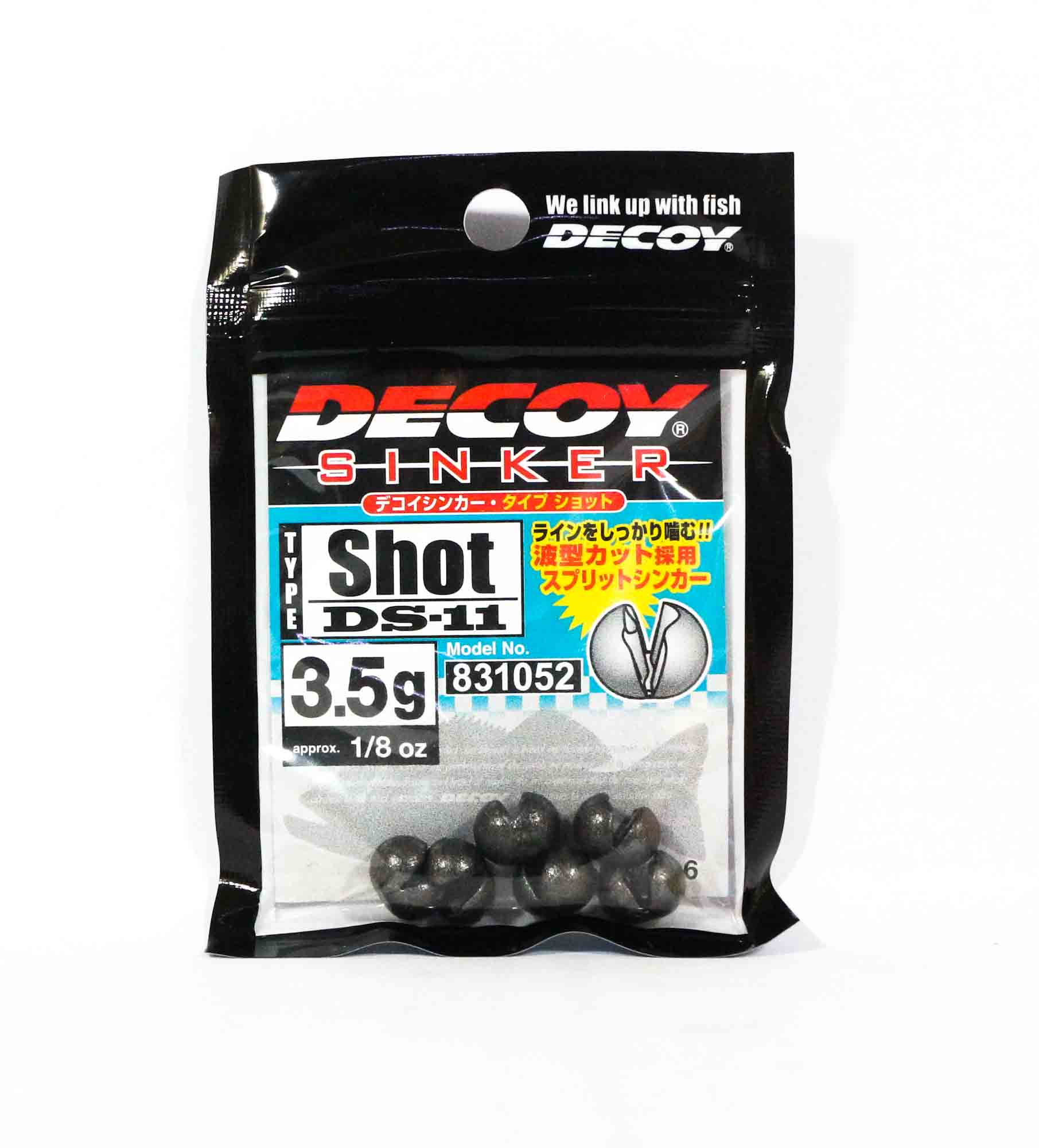 Decoy DS-11 Sinker Shot Size 3.5 grams (1052)