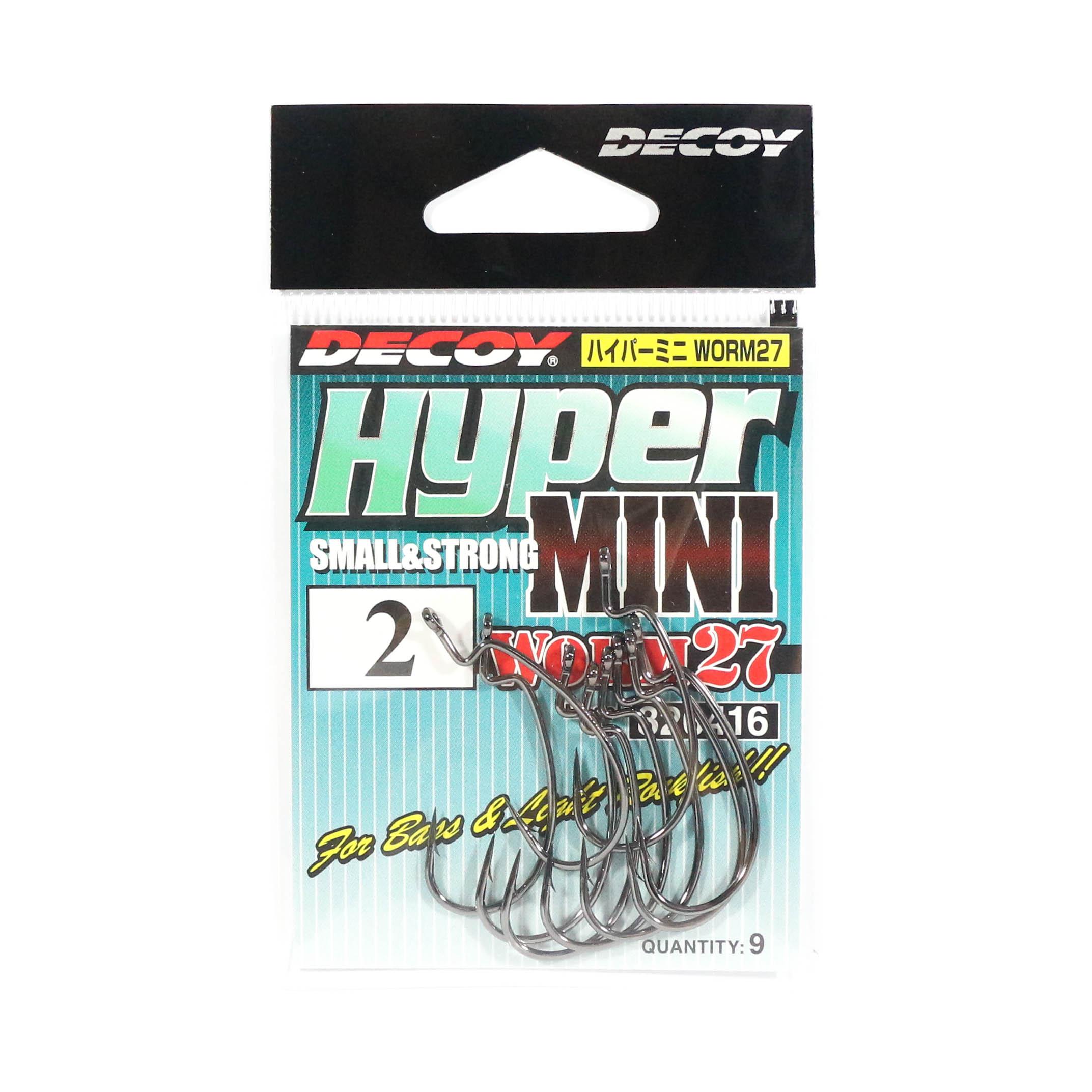 Decoy Worm 27 Hyper Mini Worm Hook Size 2 (6416)