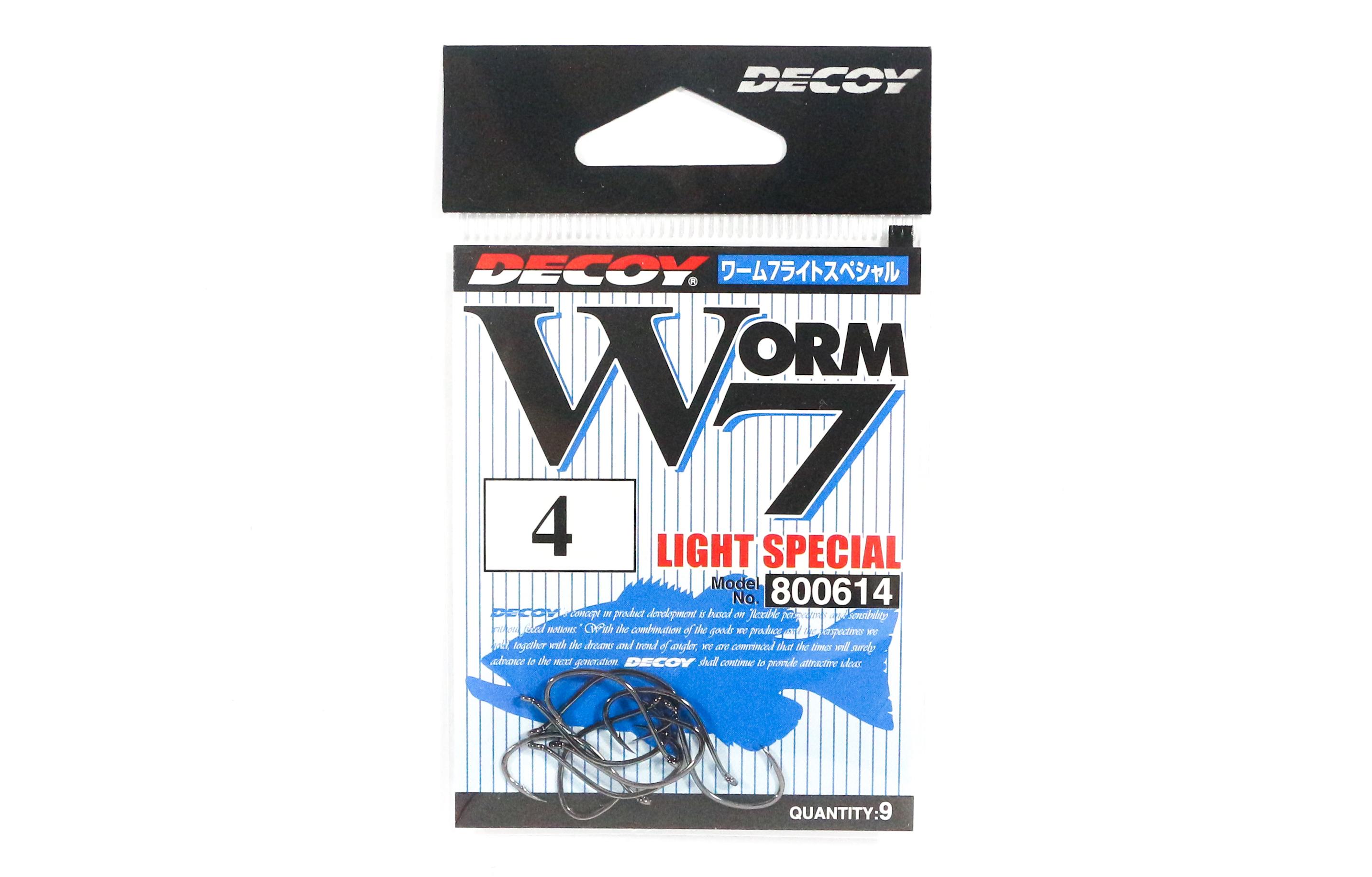 8861 Decoy Worm 417 Ringed KG Hooks Size 1