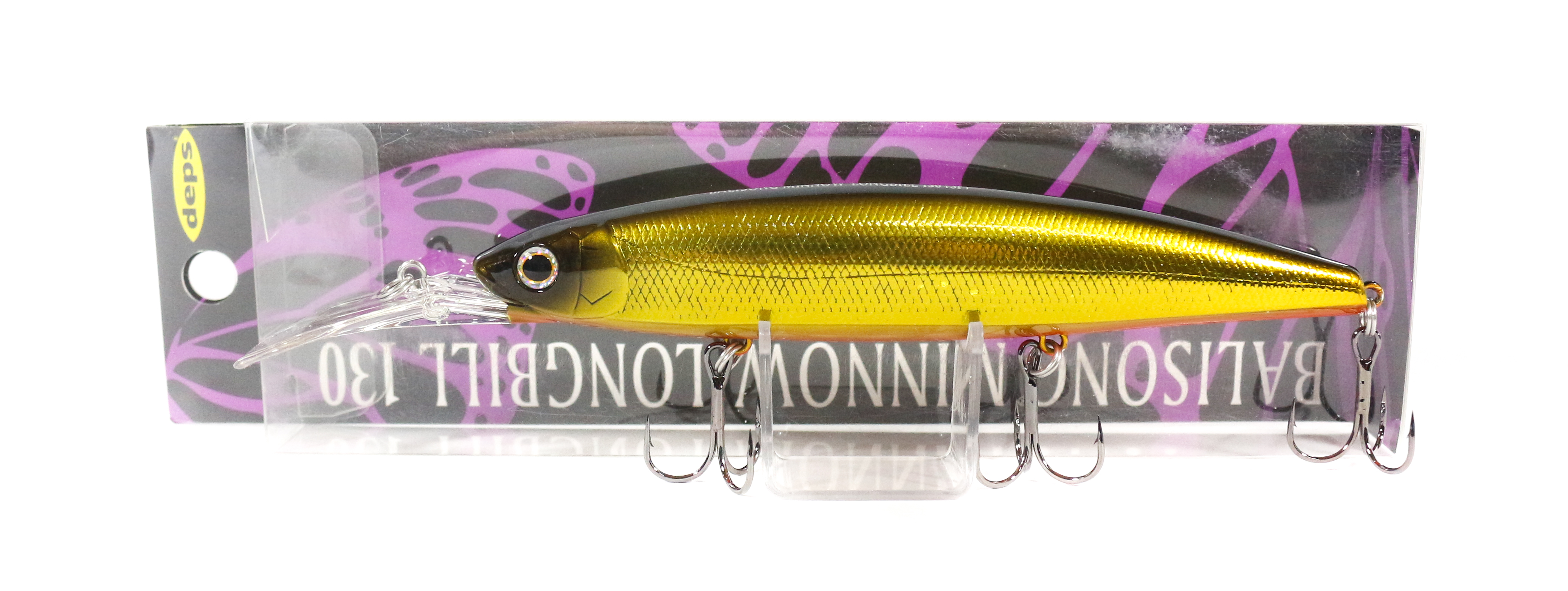Deps Balisong Minnow Long Bill 130SF Slow Floating Lure 22 (3221)