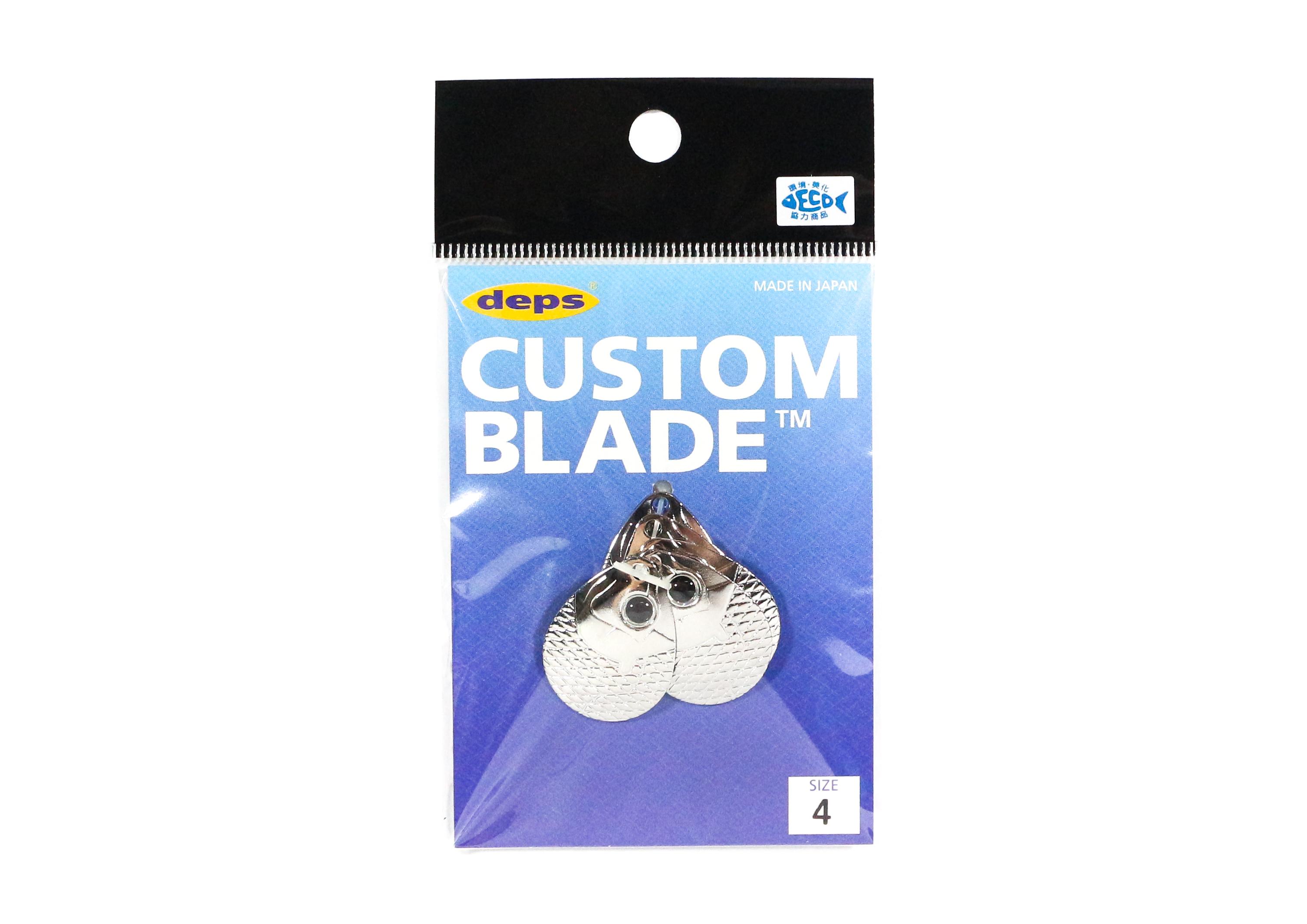 Deps Custom Blade Set Colorado Size 4 S 5 pieces (0046)