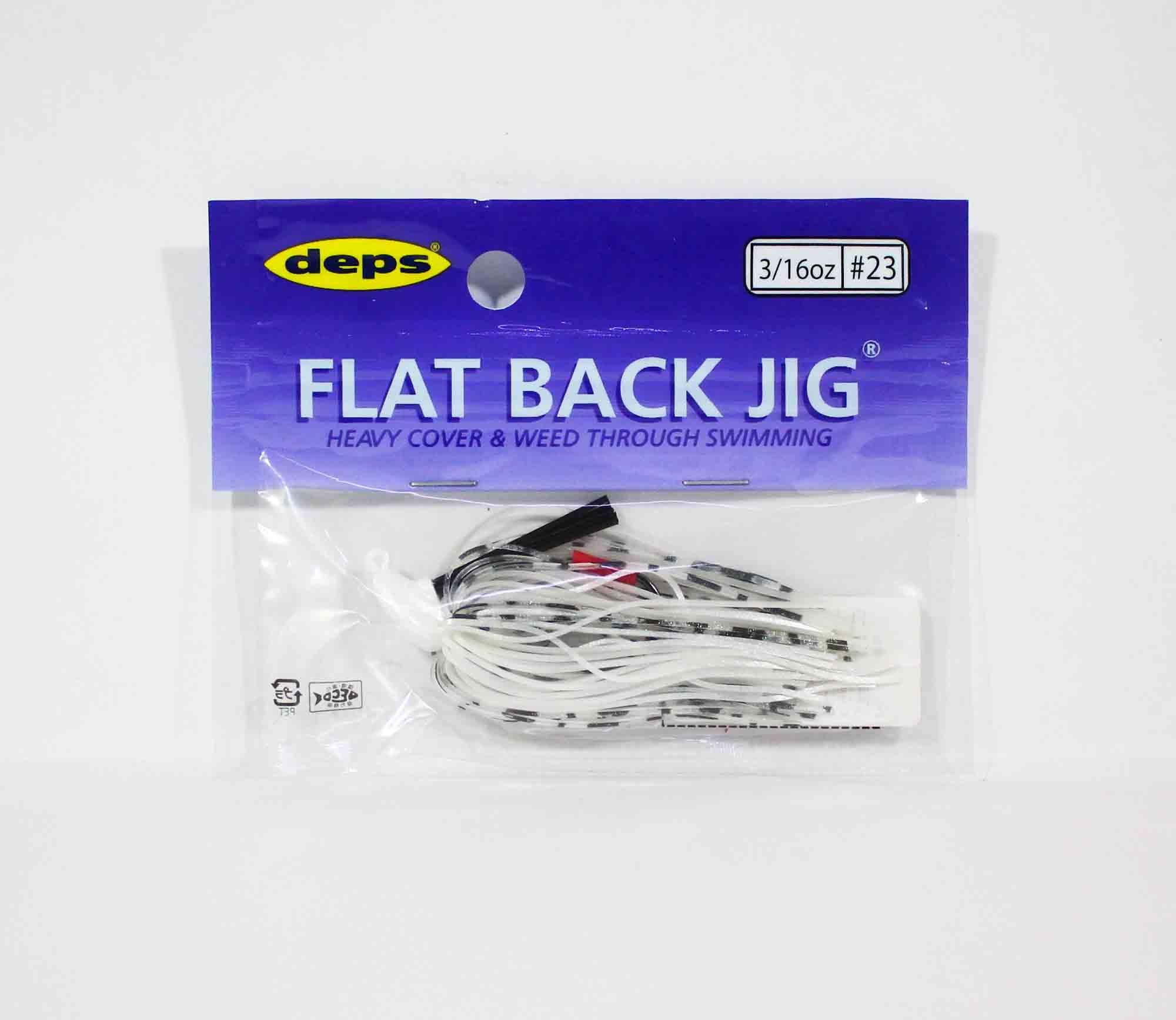 Deps Flat Back Jig Rubber 3/16 oz 23 (5237)
