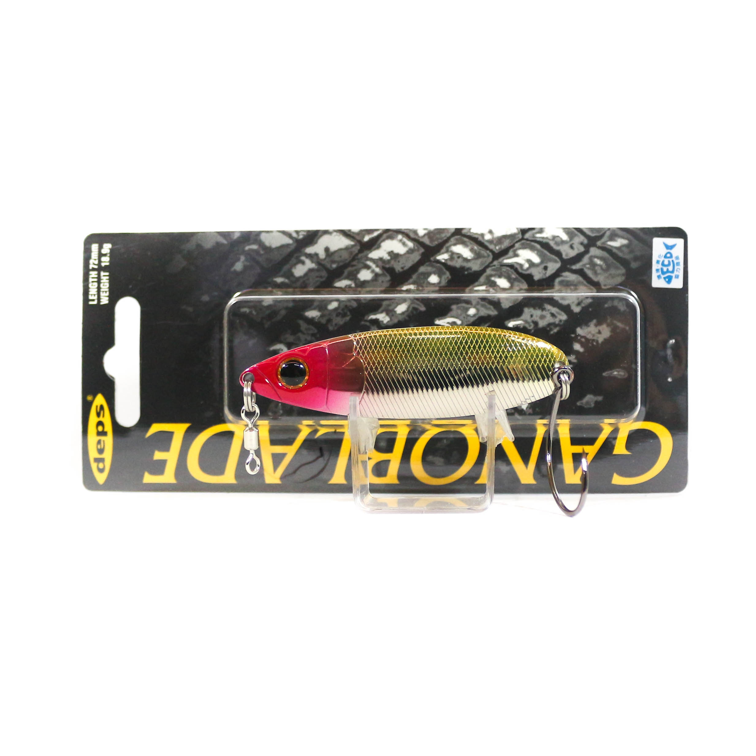 Deps Gano Blade Spoon 18.9 grams 72 mm 10 (5108)