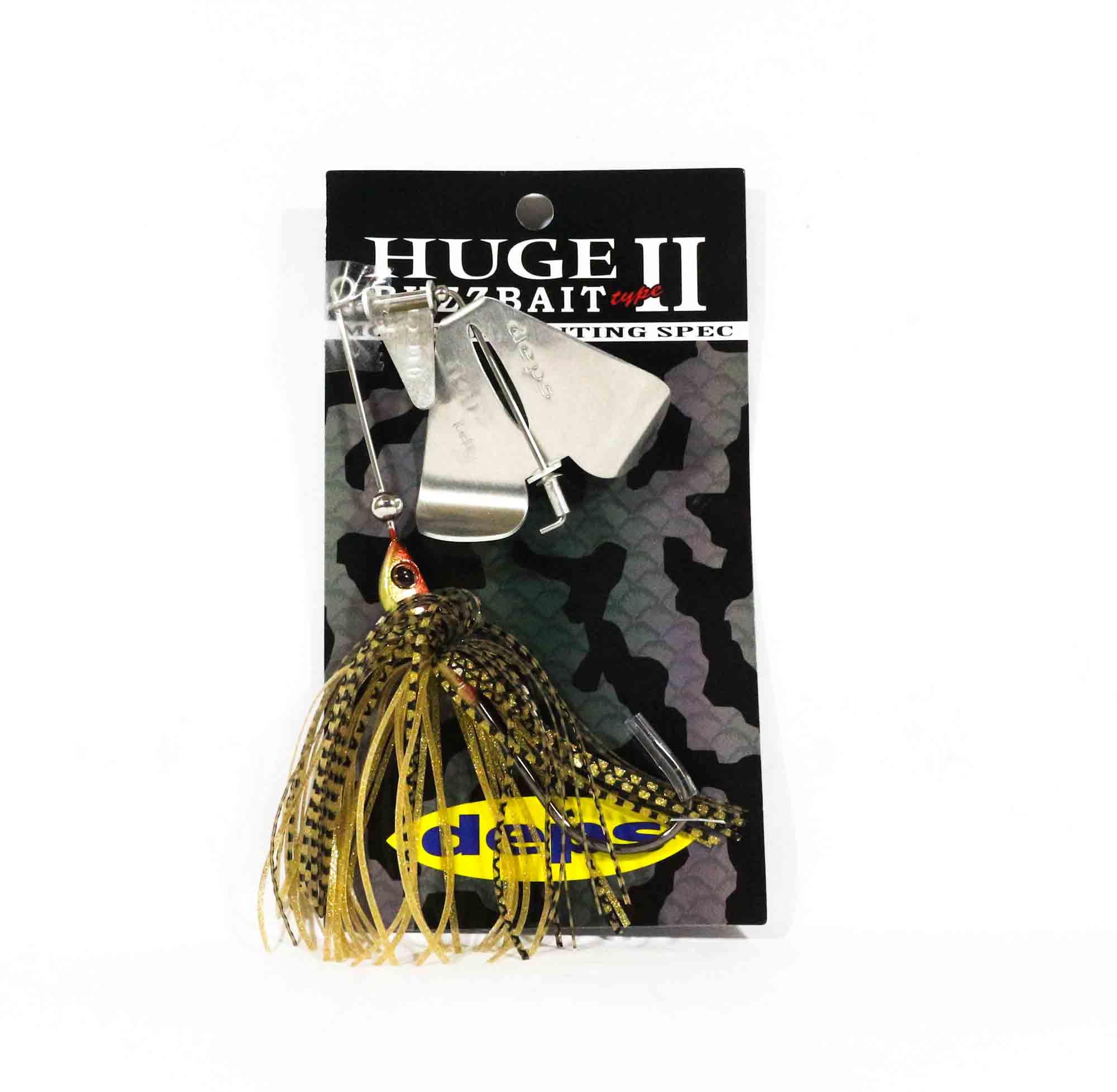 Deps Huge Custom Buzz Bait Type II 1/2 oz Hook Size 9/0 01 (3013)