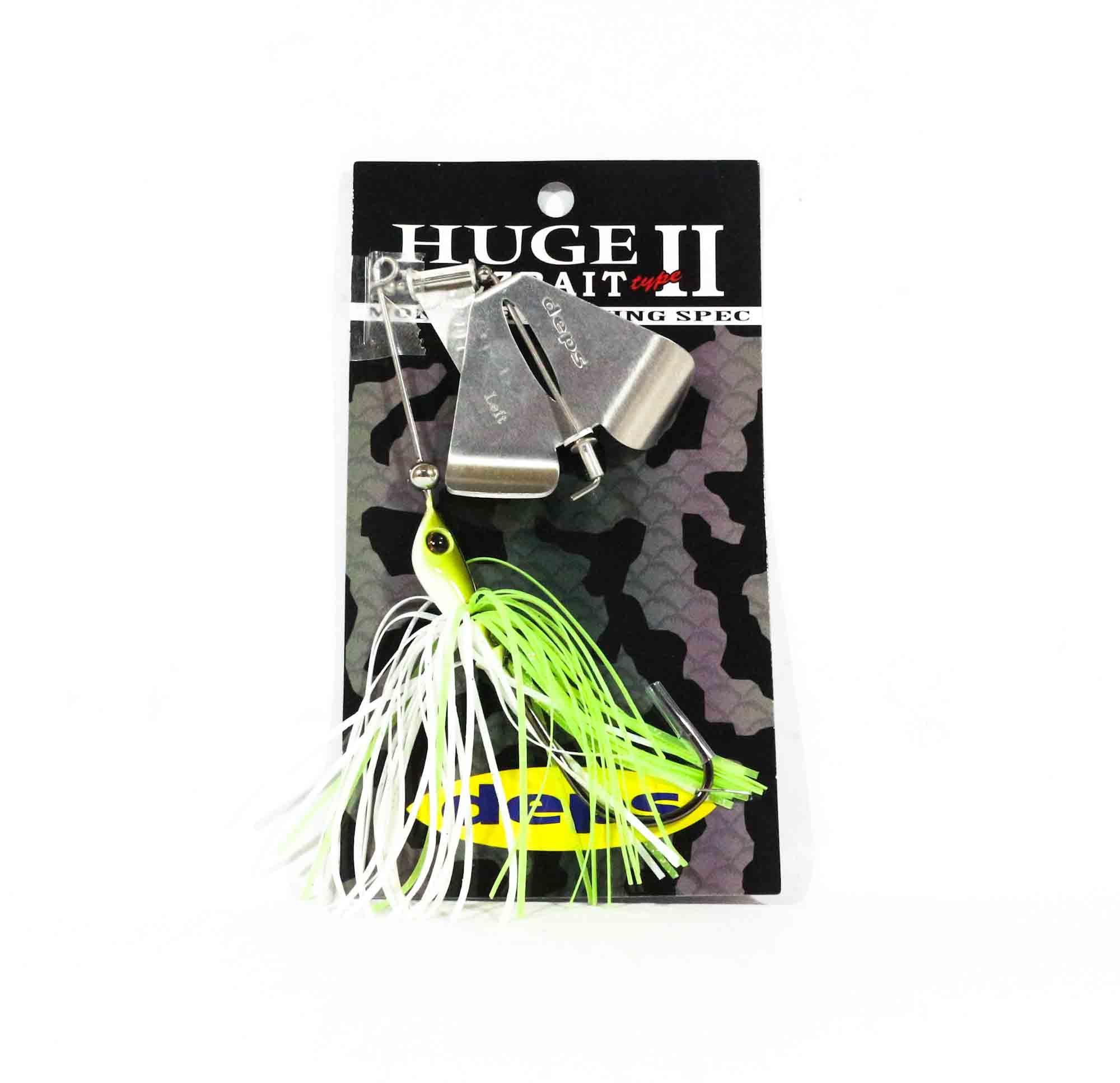 Deps Huge Custom Buzz Bait Type II 1/2 oz Hook Size 9/0 04 (3044)