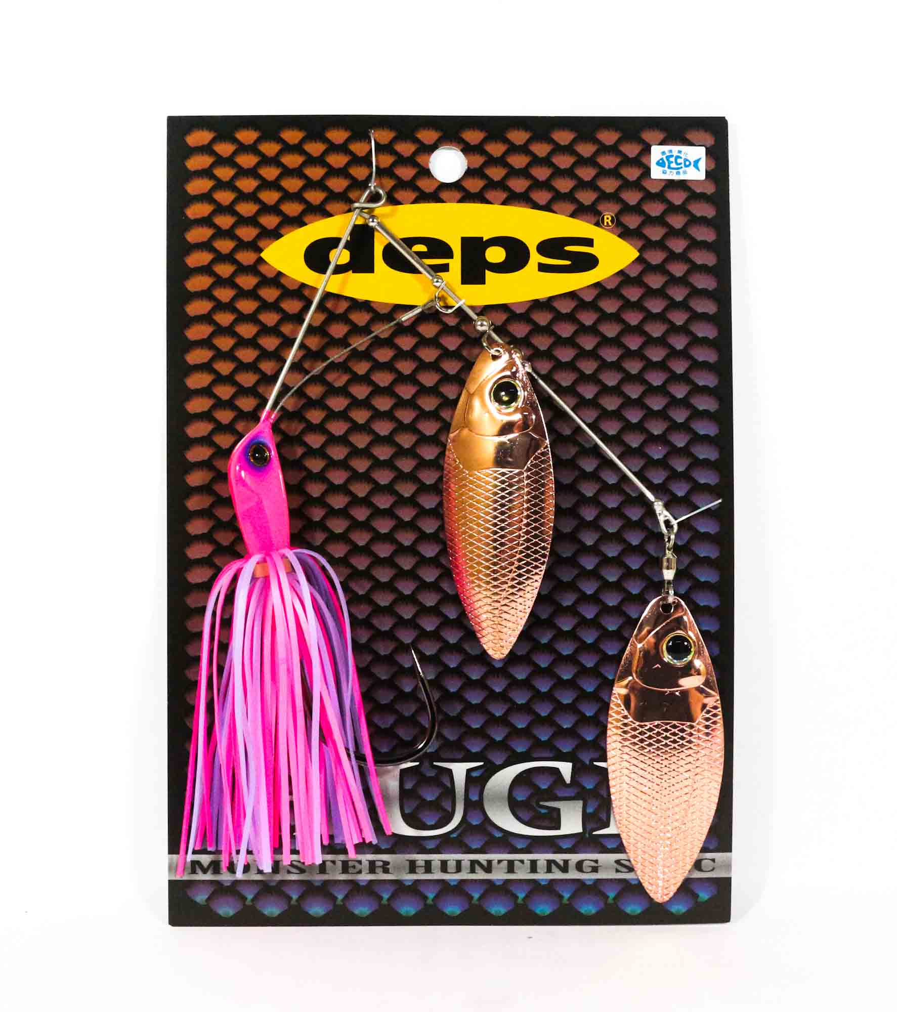 Deps Huge Custom Spinnerbait Monster Hunting 1 oz Hook Size 9/0 03 (0036)