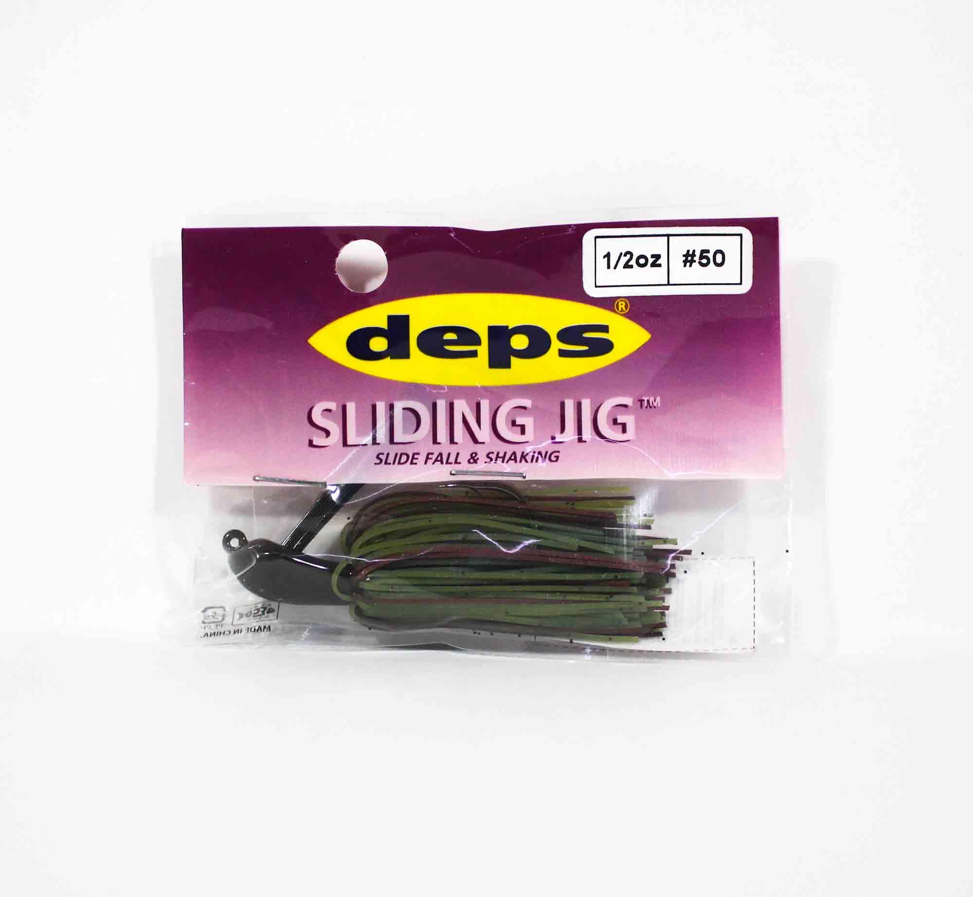 Deps Sliding Jig Rubber 1/2 oz 50 (0508)