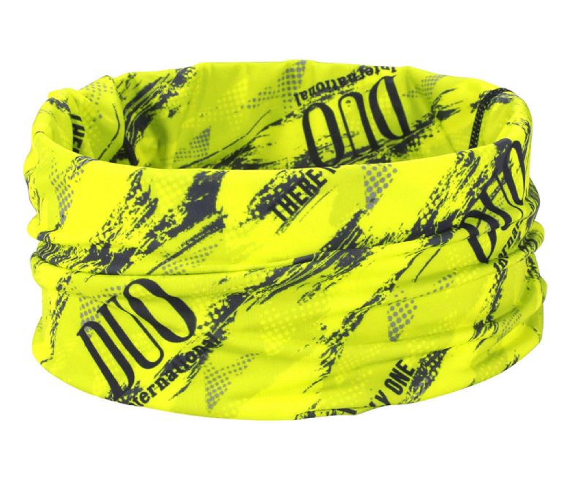 Duo Neck Gaiter UV Head Wear Free Size Original Chartreuse Geo (4494)